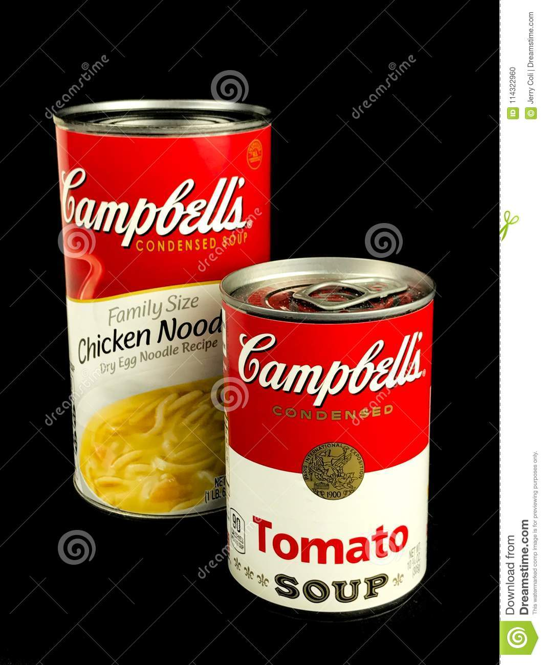 campbell`s soup products editorial image. image of family - 114322960