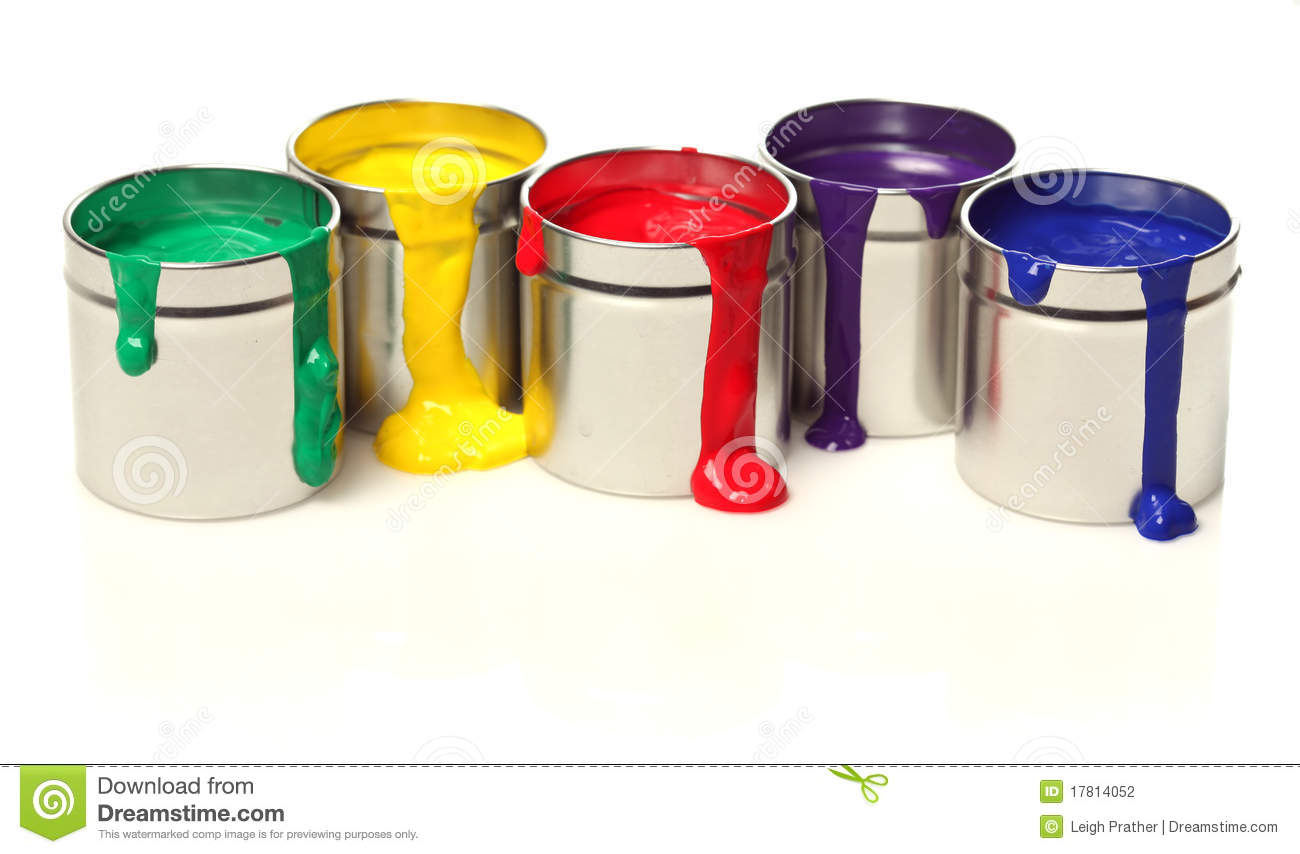 what are paint cans made of