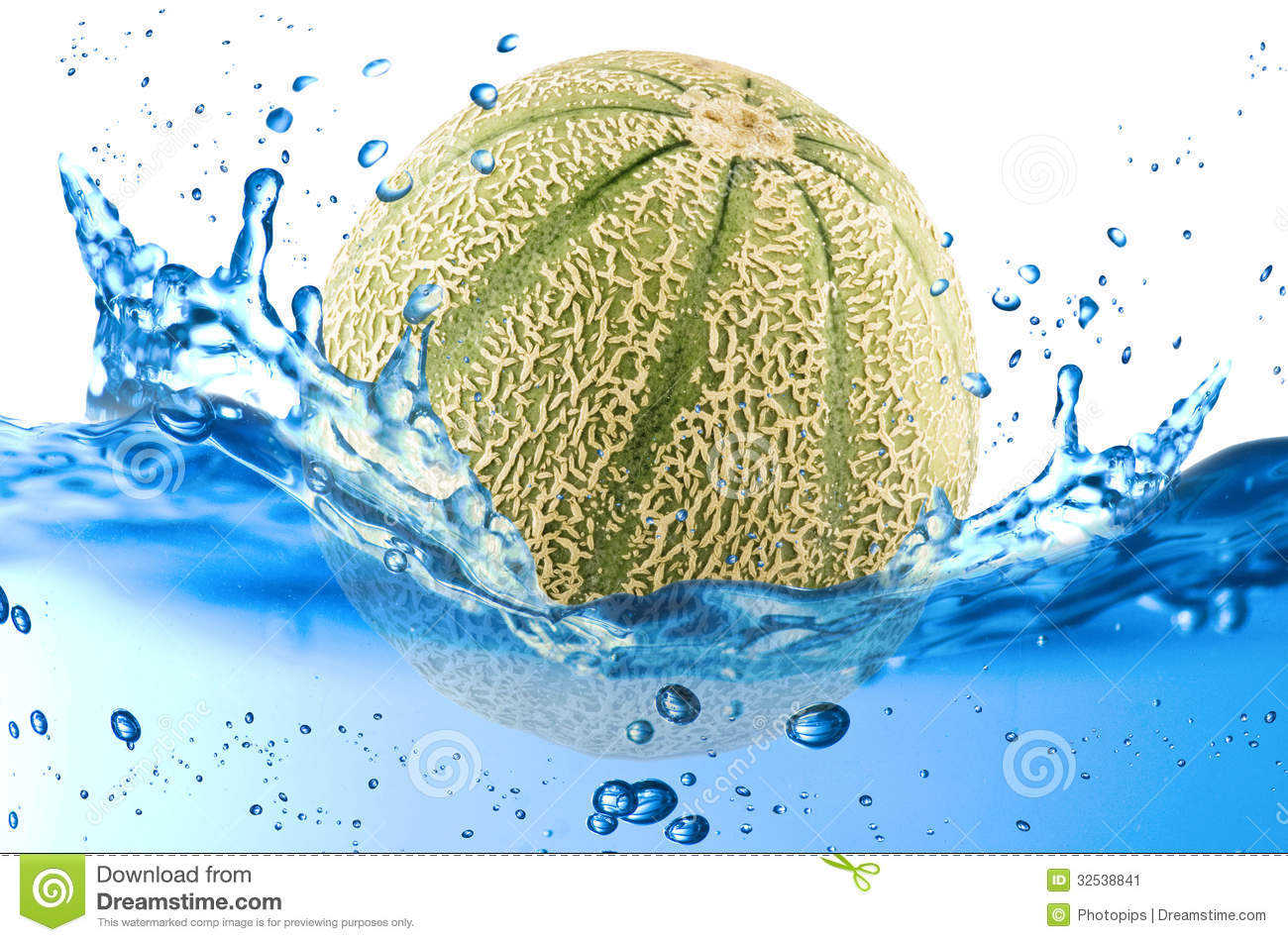 Cantaloupe Melon Splash Stock Image Image Of Humidity 32538841 The flesh is denser than a place the cantaloupe pieces on a baking tray. dreamstime com
