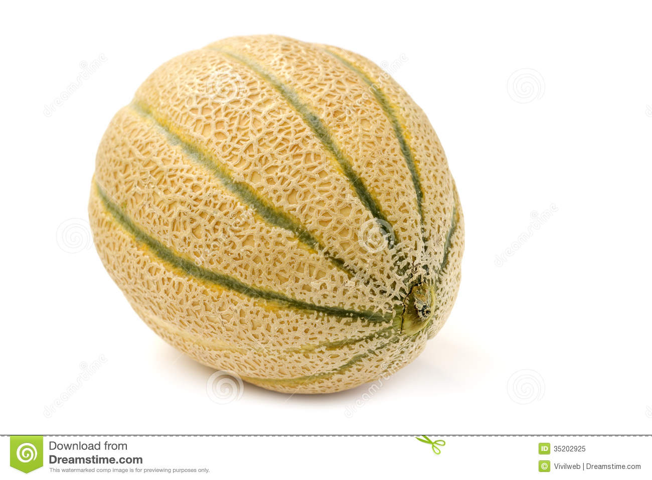 how to cut up a cantaloupe