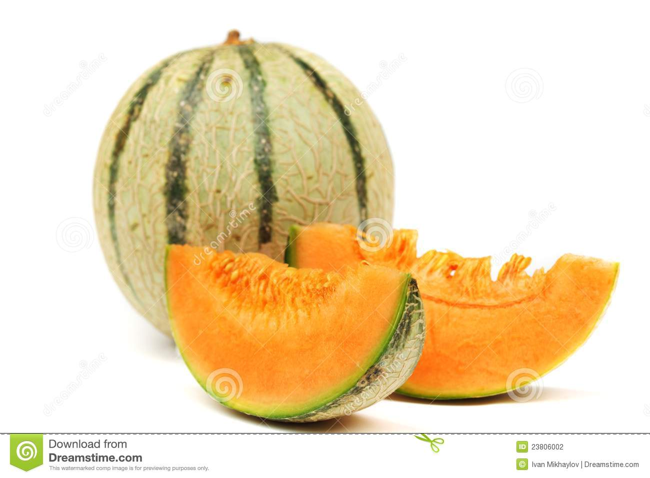 cantaloupe melone stock photography image 23806002. Black Bedroom Furniture Sets. Home Design Ideas