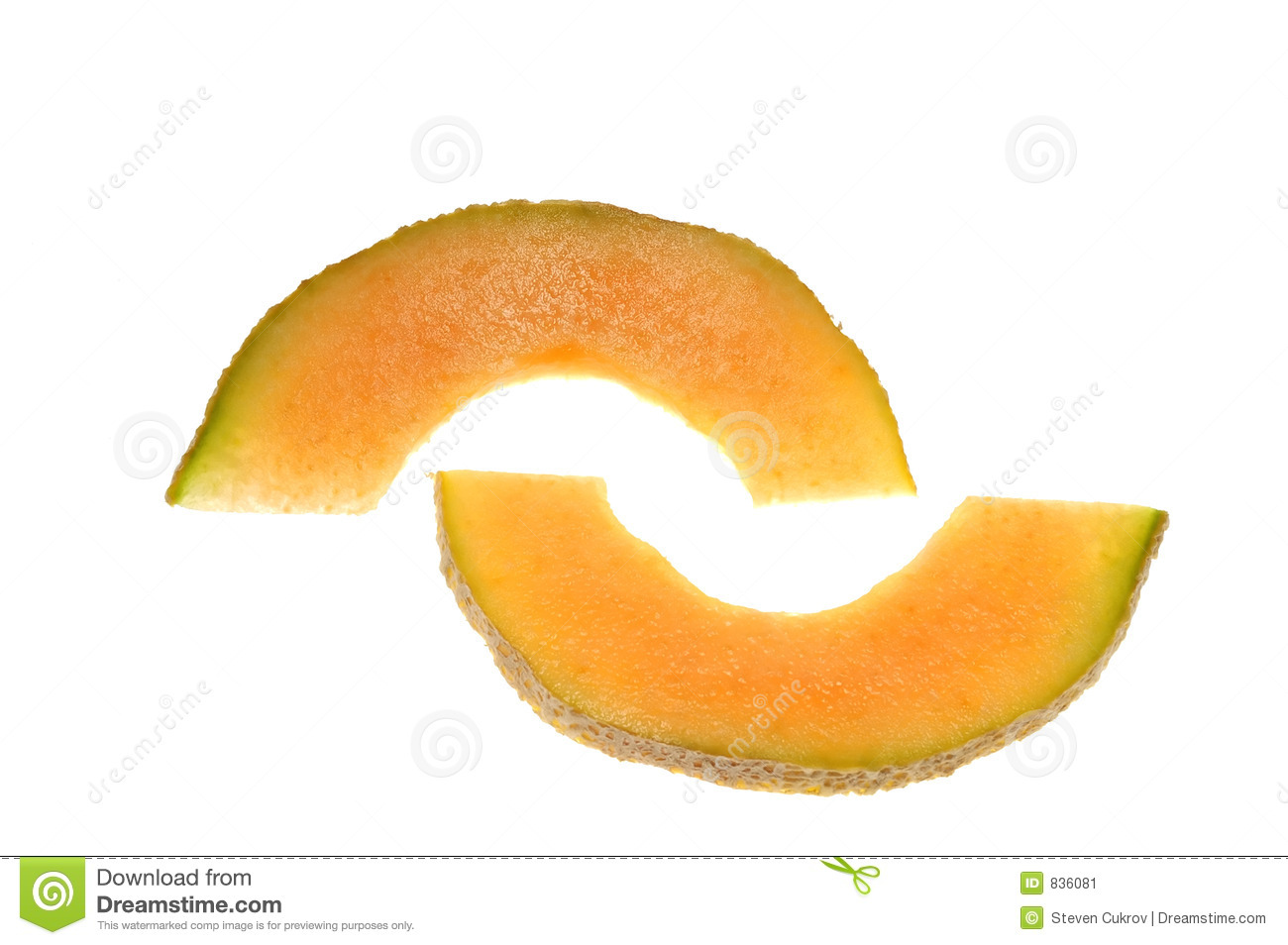 how to cut cantaloupe slices