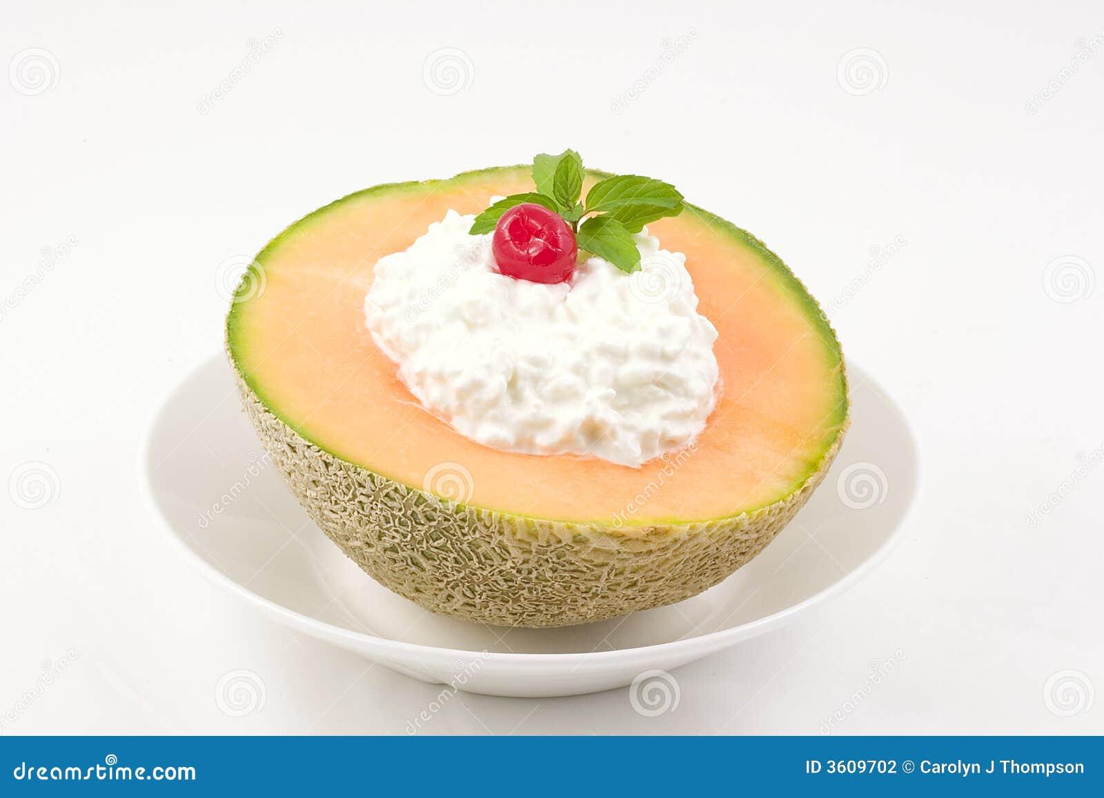 Cantaloupe Snack Stock Photography Image 3609702