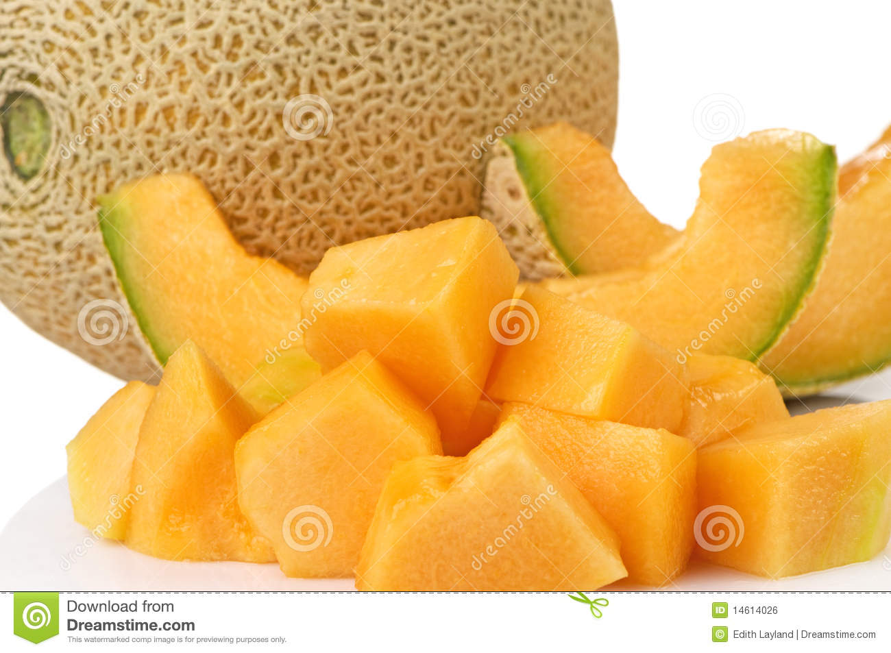 how to tell when cantaloupe is ready