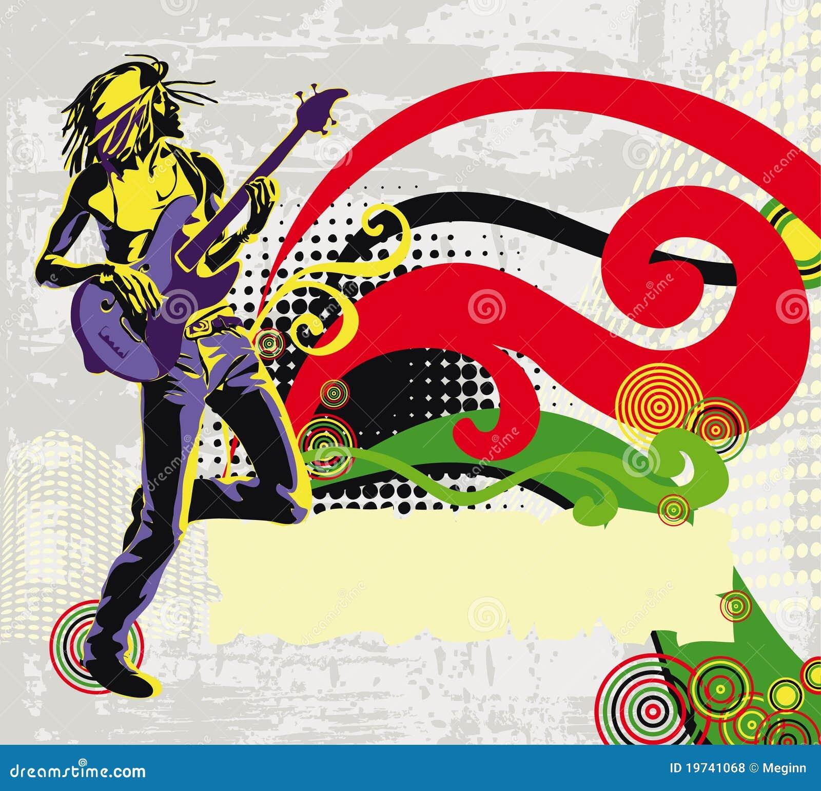 Cantante afroamericano del reggae