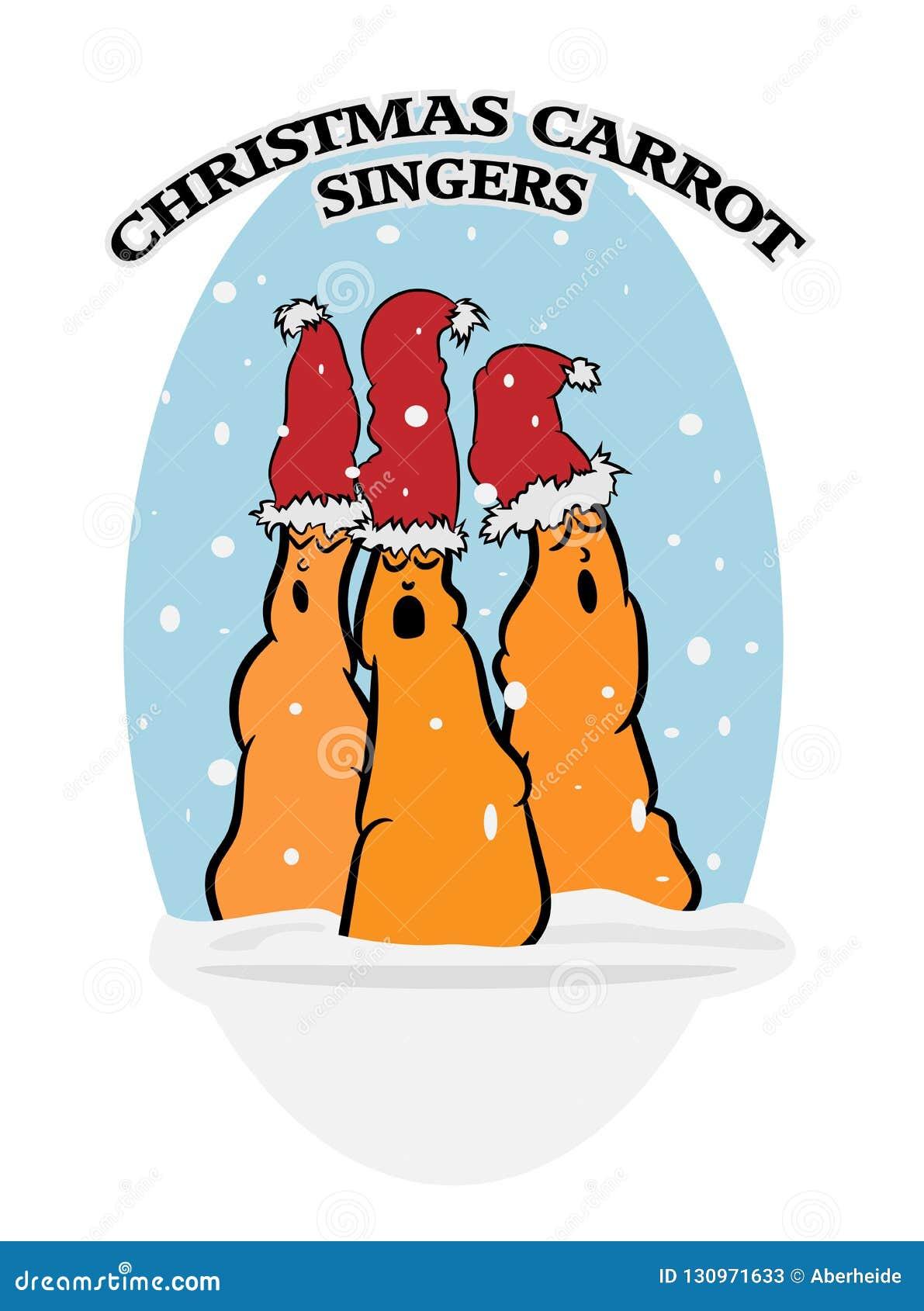 Cantantes De La Zanahoria De La Navidad Ilustracion Del Vector Ilustracion De Navidad Zanahoria 130971633 La zanahoria es uno de los vegetales más ricos en carotenos, compuestos que el hígado. dreamstime