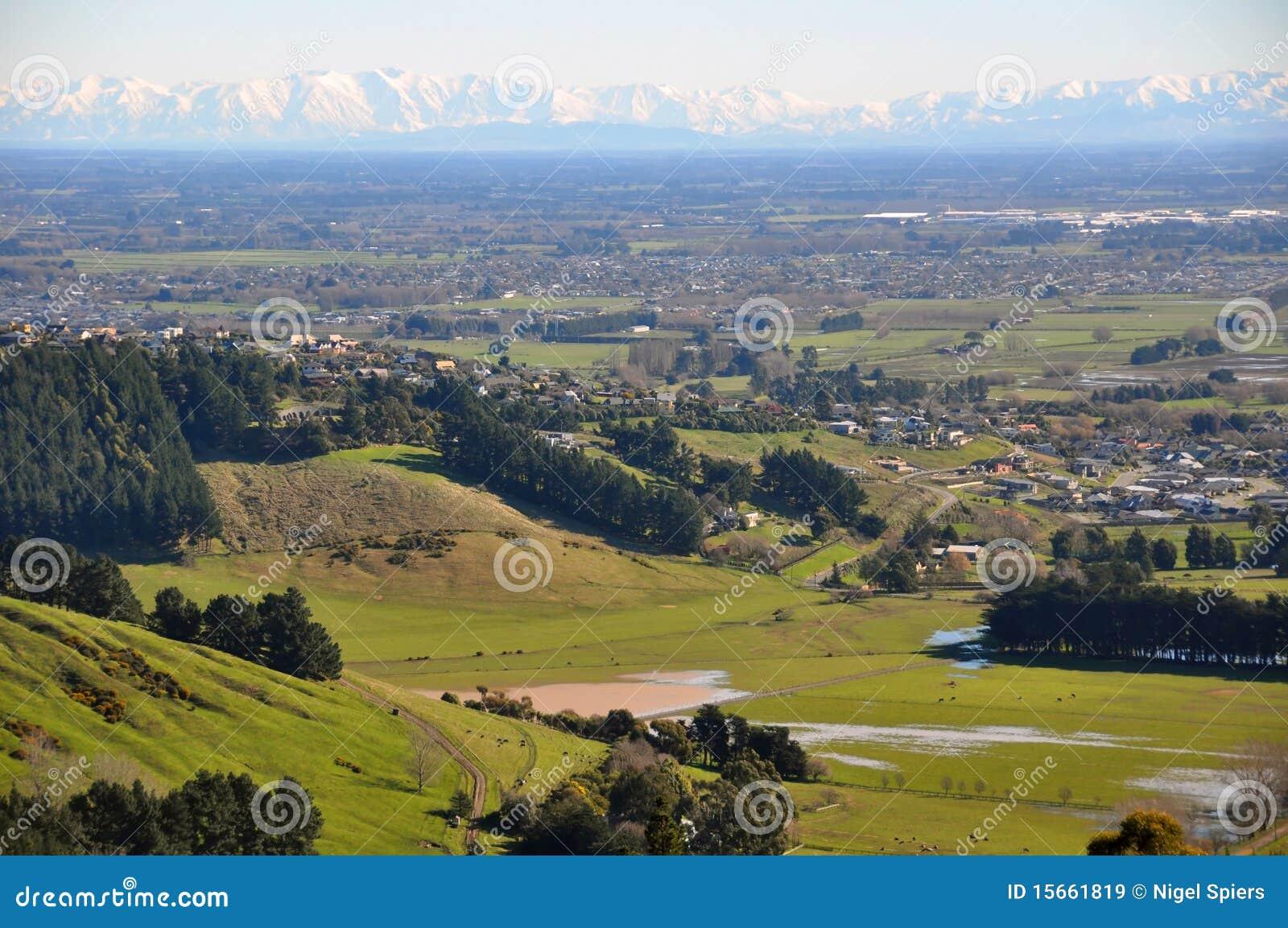 Canterbury-Ebenen, Neuseeland