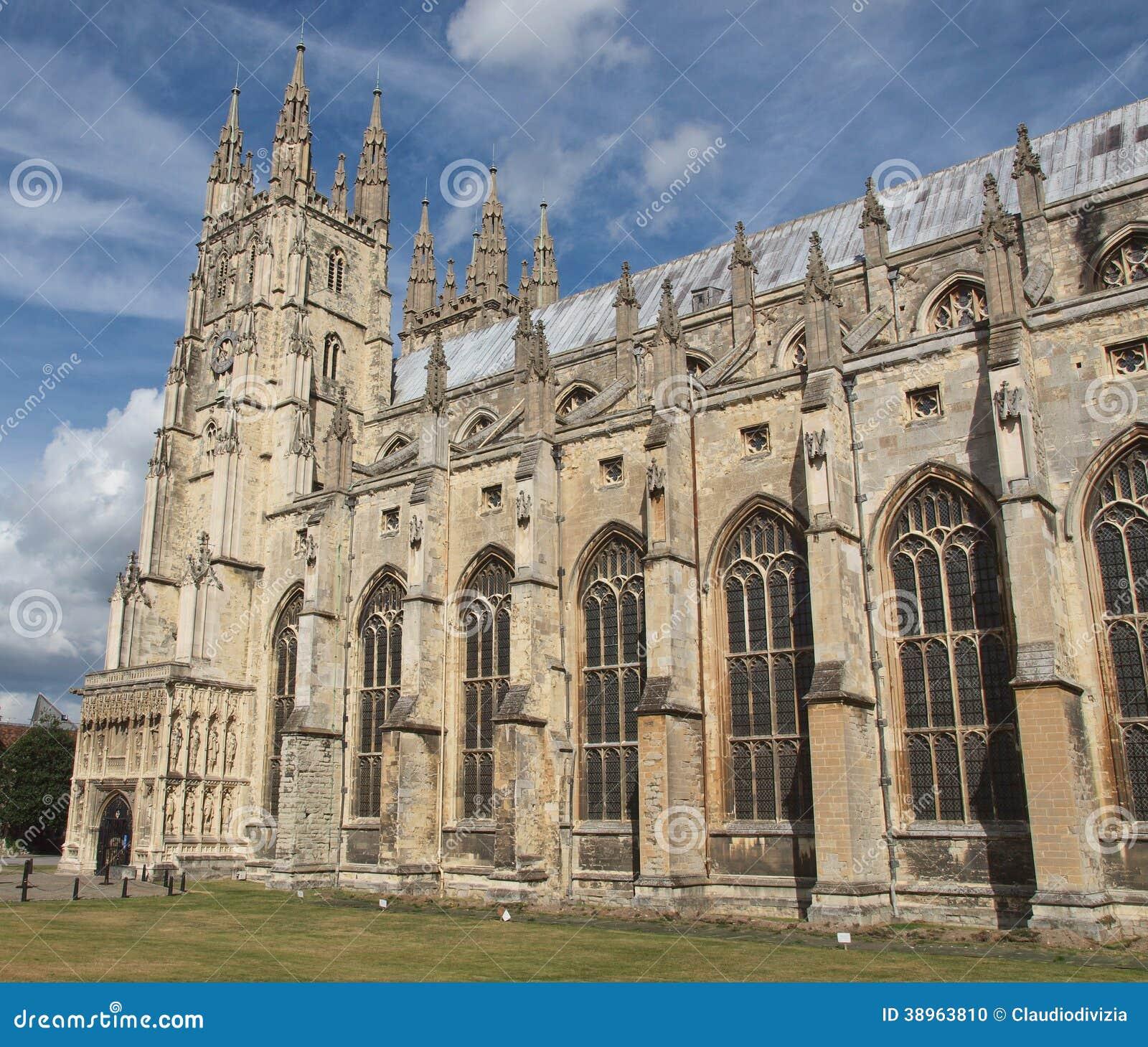 Canterbury katedra
