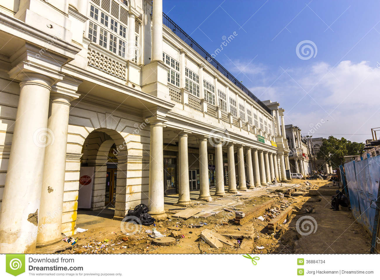 Download Cantiere Al Posto Di Connaught Immagine Stock Editoriale - Immagine di asia, duca: 36884734
