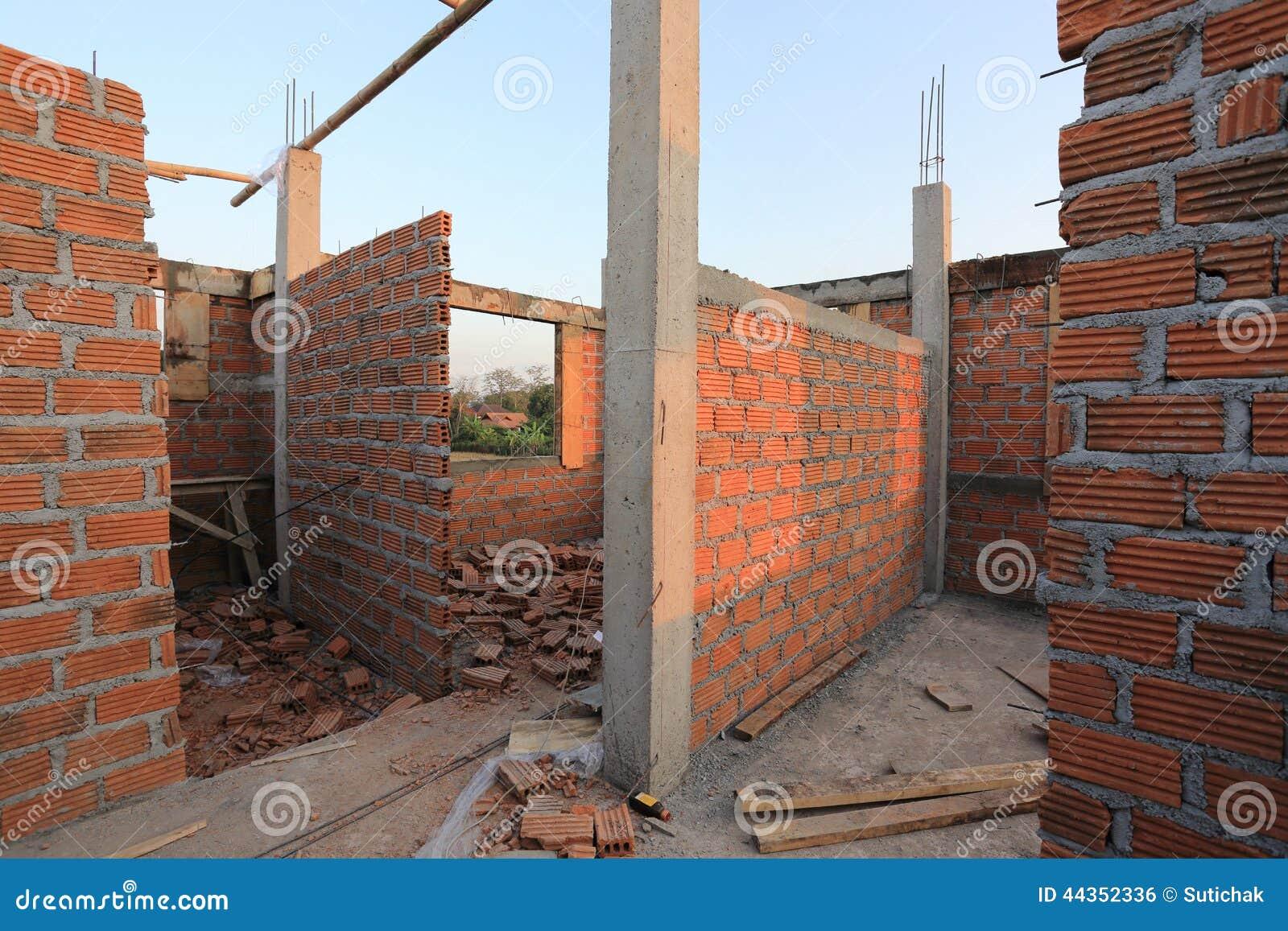 Cantiere dell edificio residenziale