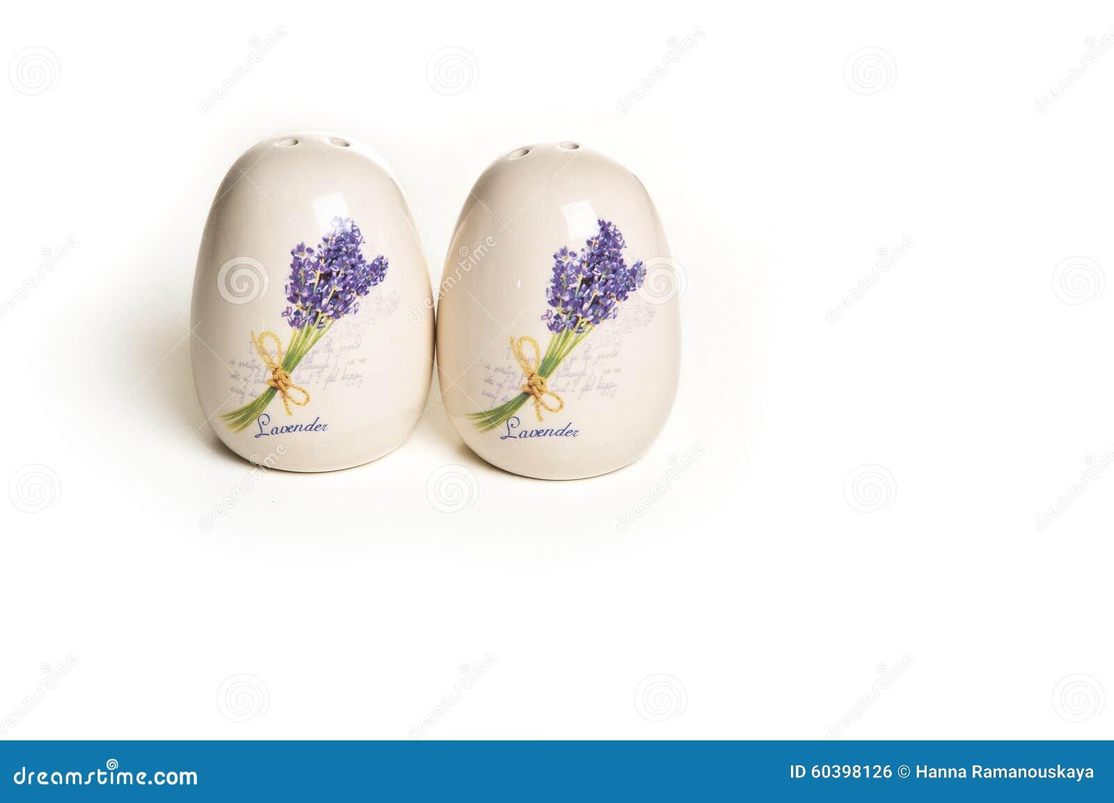 Cantina ceramica del vaso e del sale di pepe