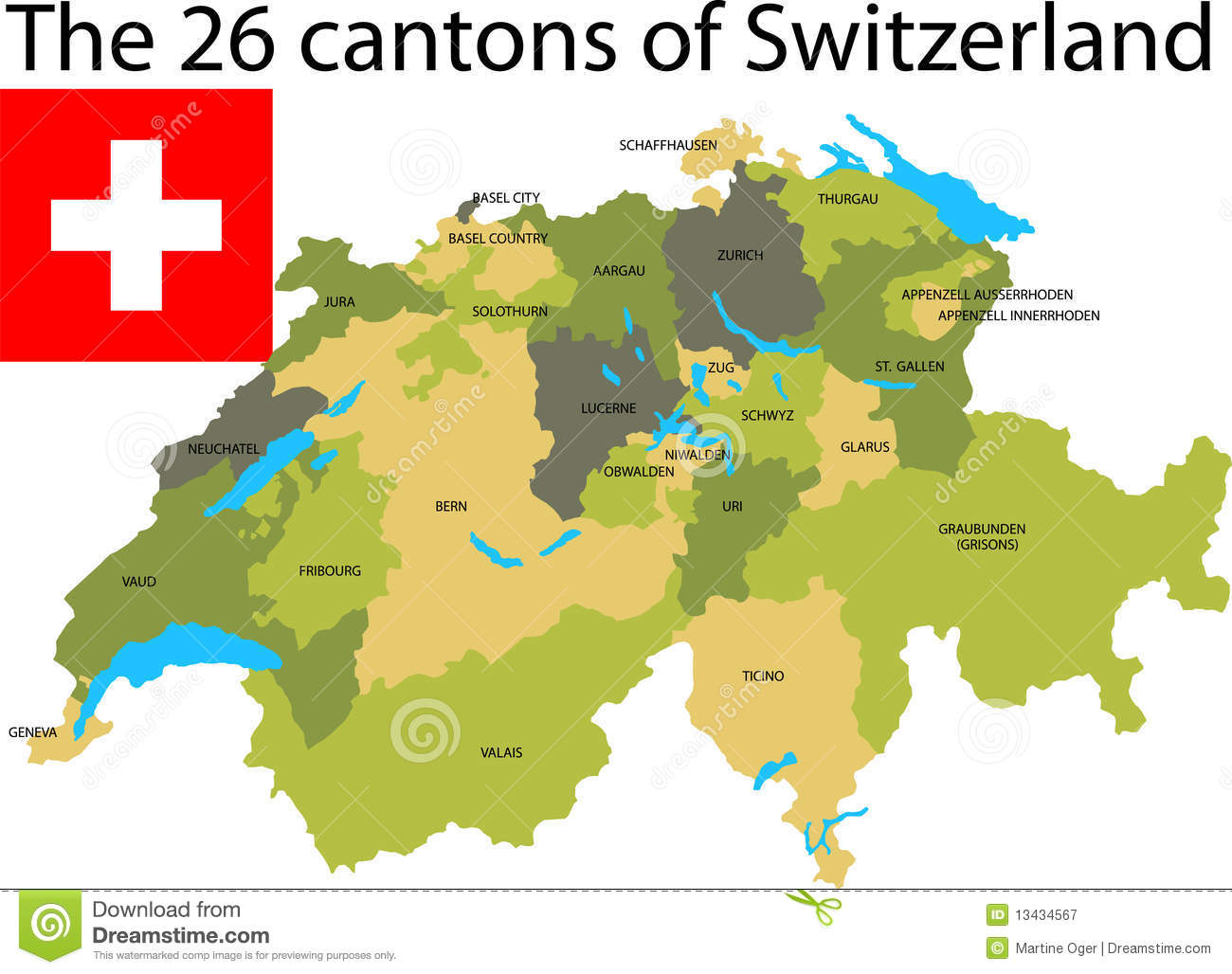 Cantons switzerland