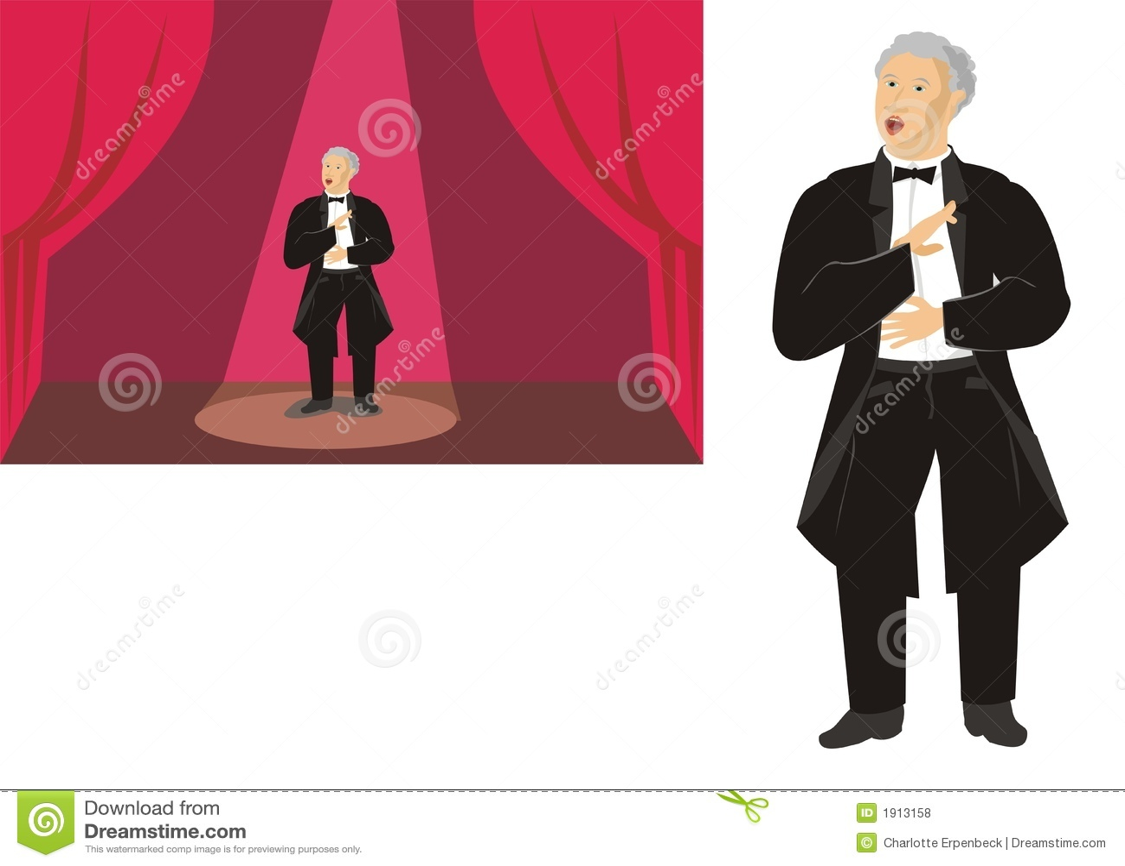 Cantor da ópera