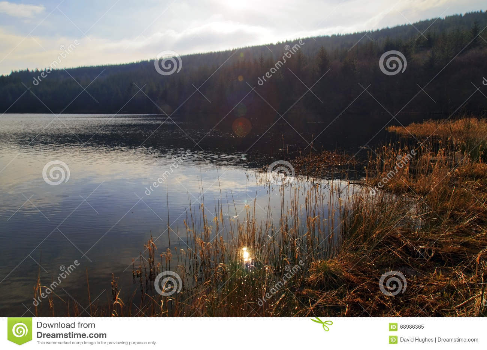 Cantref rezerwuar, Nant-ddu, Brecon bakanów park narodowy