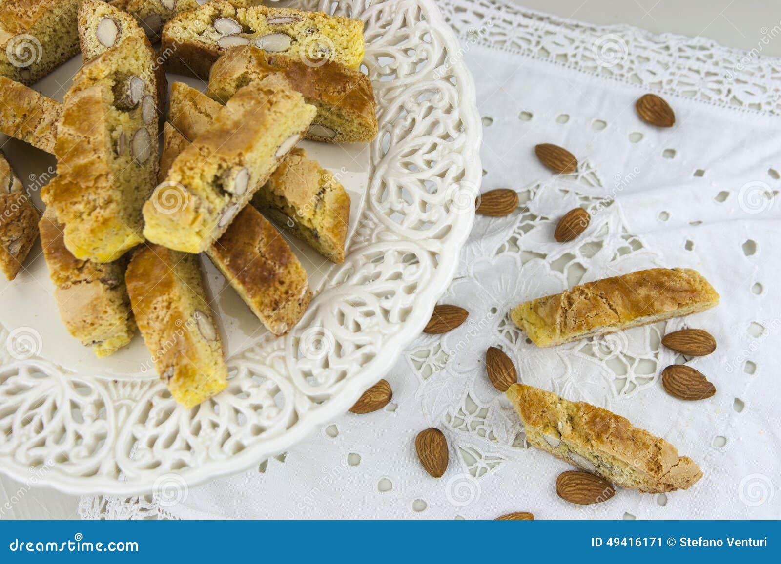 Download Cantucci stockbild. Bild von crunchy, orange, koch, süßigkeit - 49416171