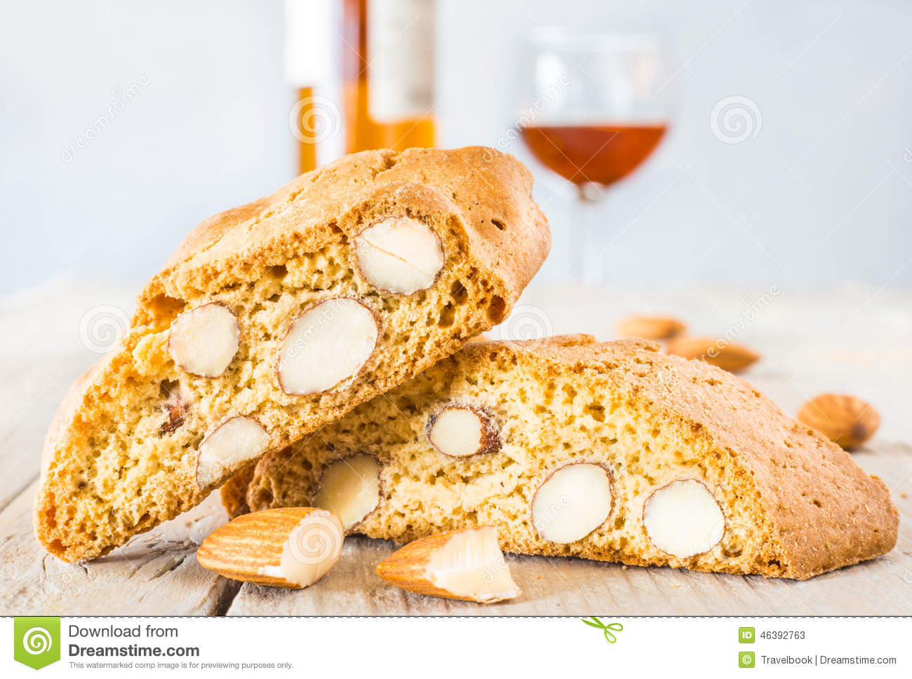 Cantuccini Cookies Stock Image Image Of Cake Background 46392763