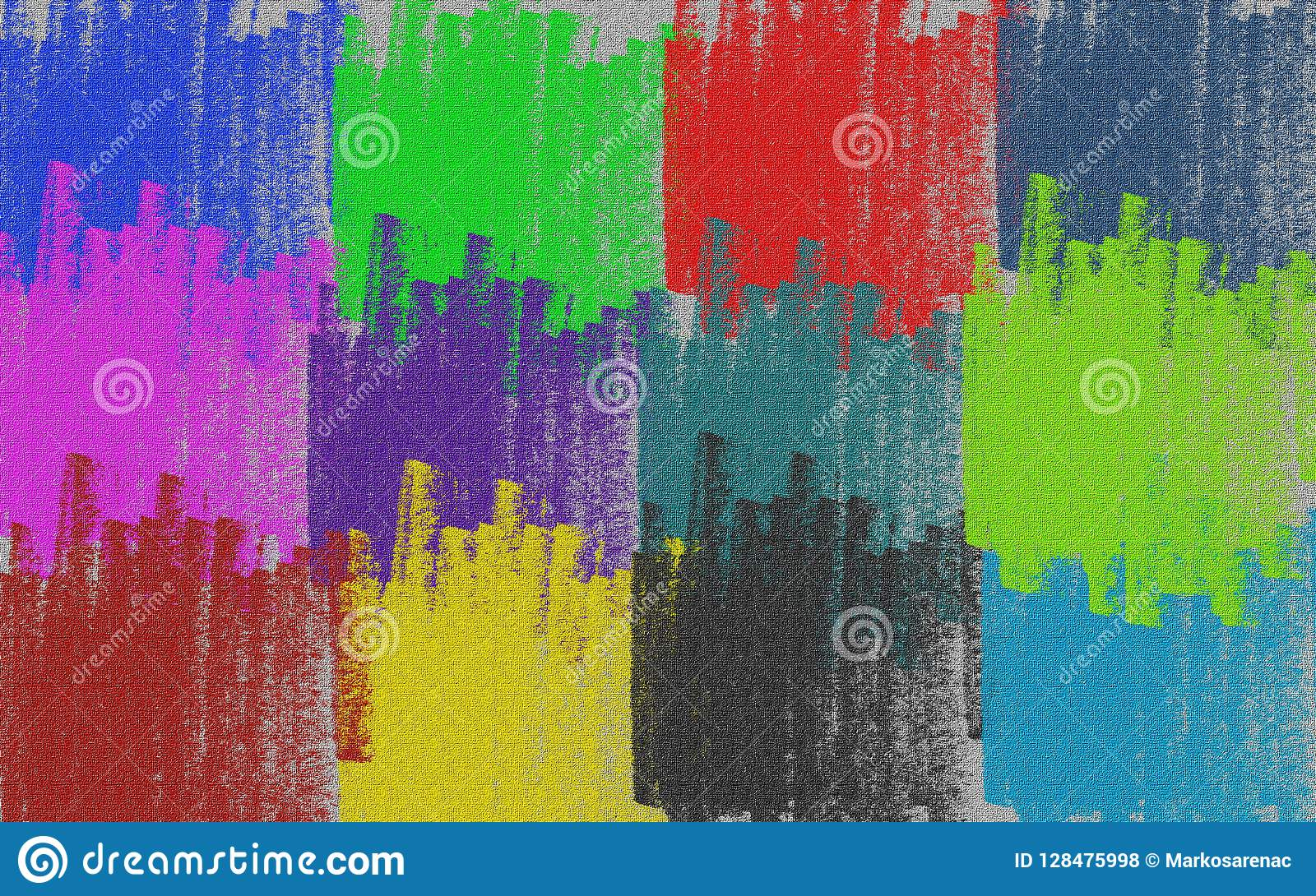 Canvas multicolored pastello Fondo