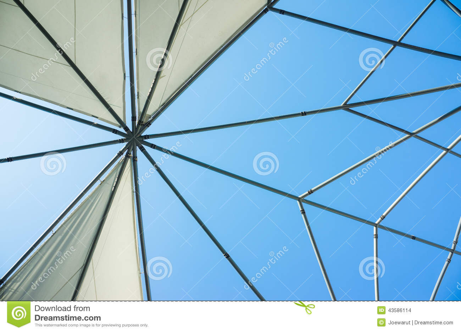 bone canvas roof ... & Canvas Roof Stock Photo - Image: 43586114 memphite.com