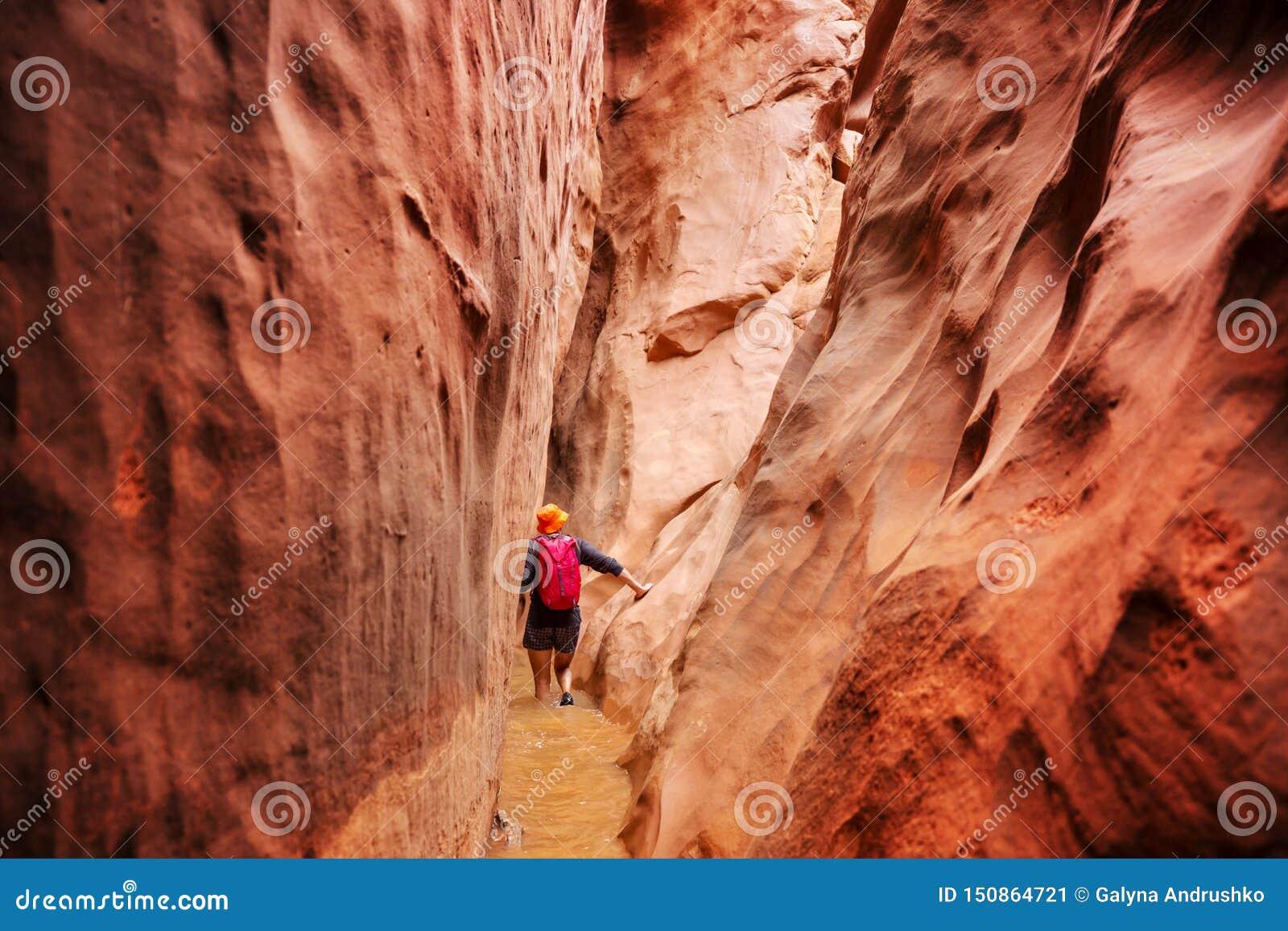 Canyon de fente