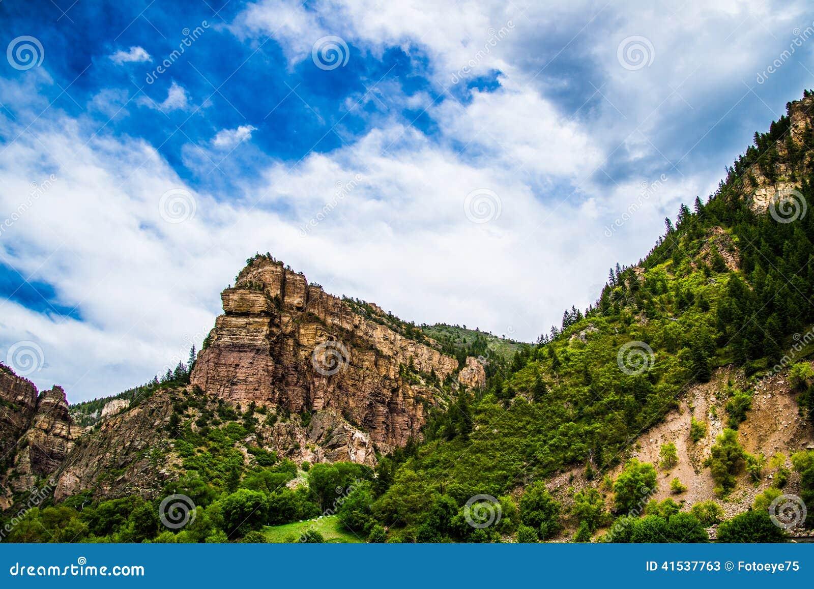 Canyon de Glenwood dans le Colorado
