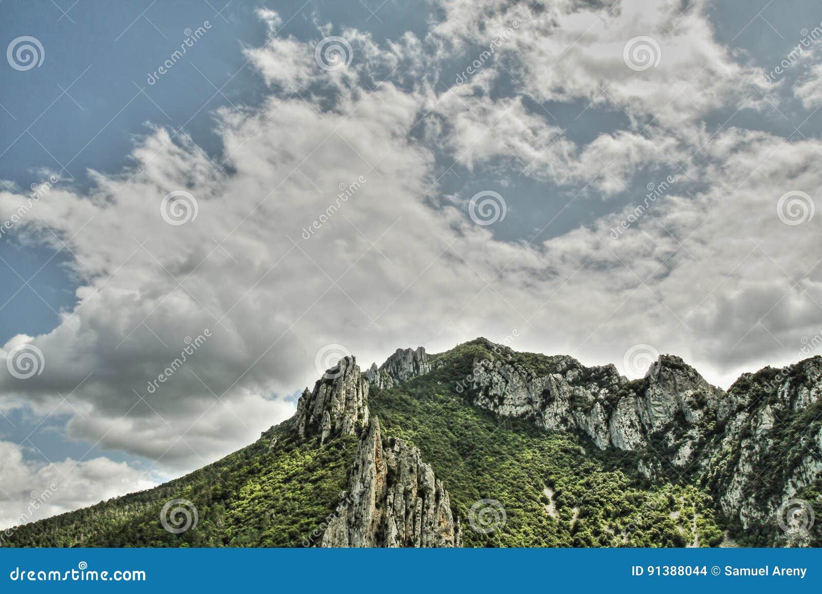 Canyon de Pierre Lys dans Pyrénées, Frances