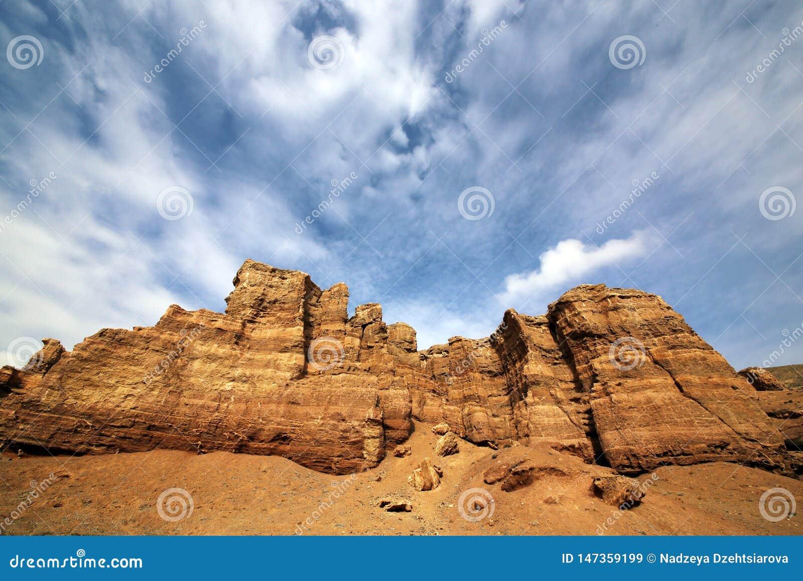 Canyon del fiume di Charyn