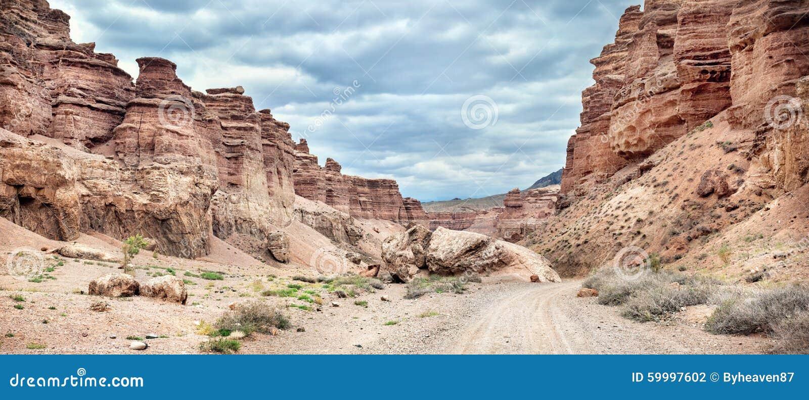 Canyon di Charyn in Kazakhstan