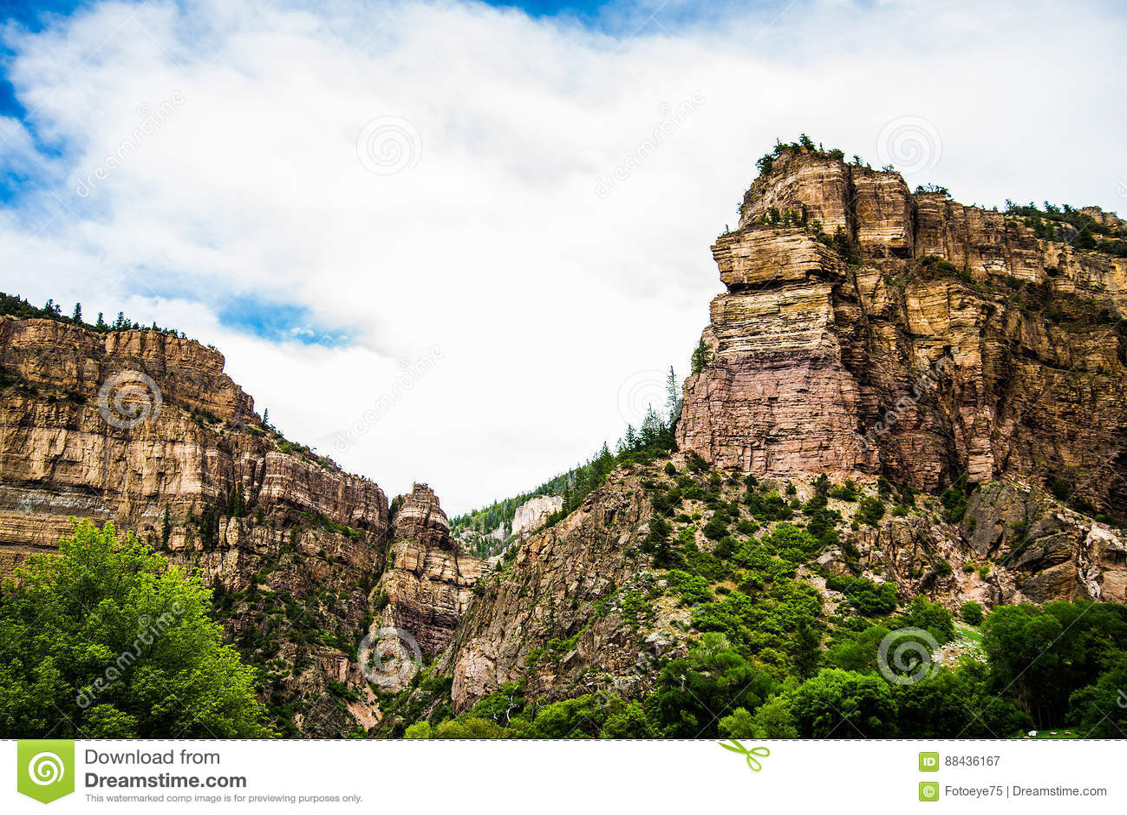Canyon di Glenwood in Colorado