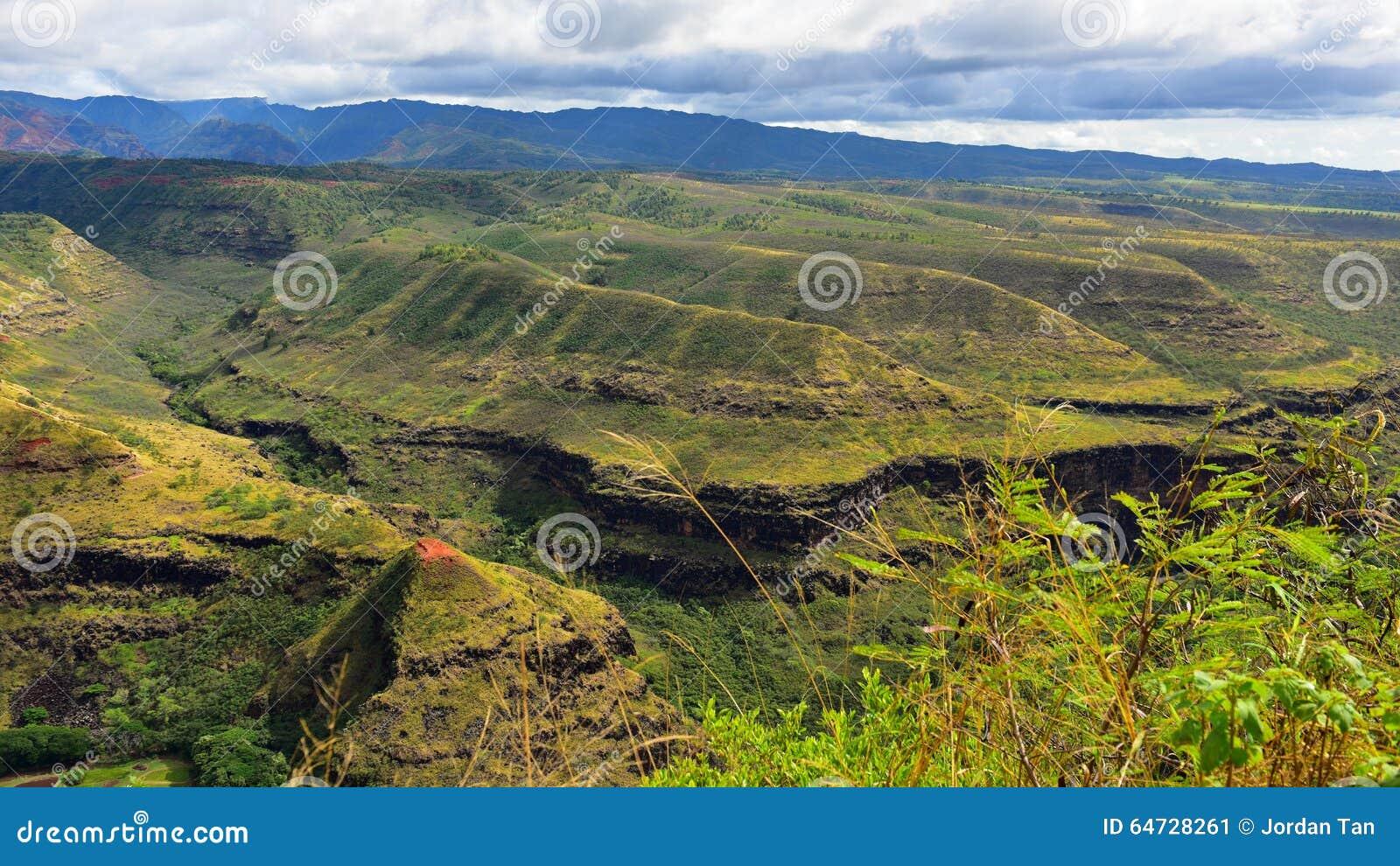 Canyon di Magnicent Waimea