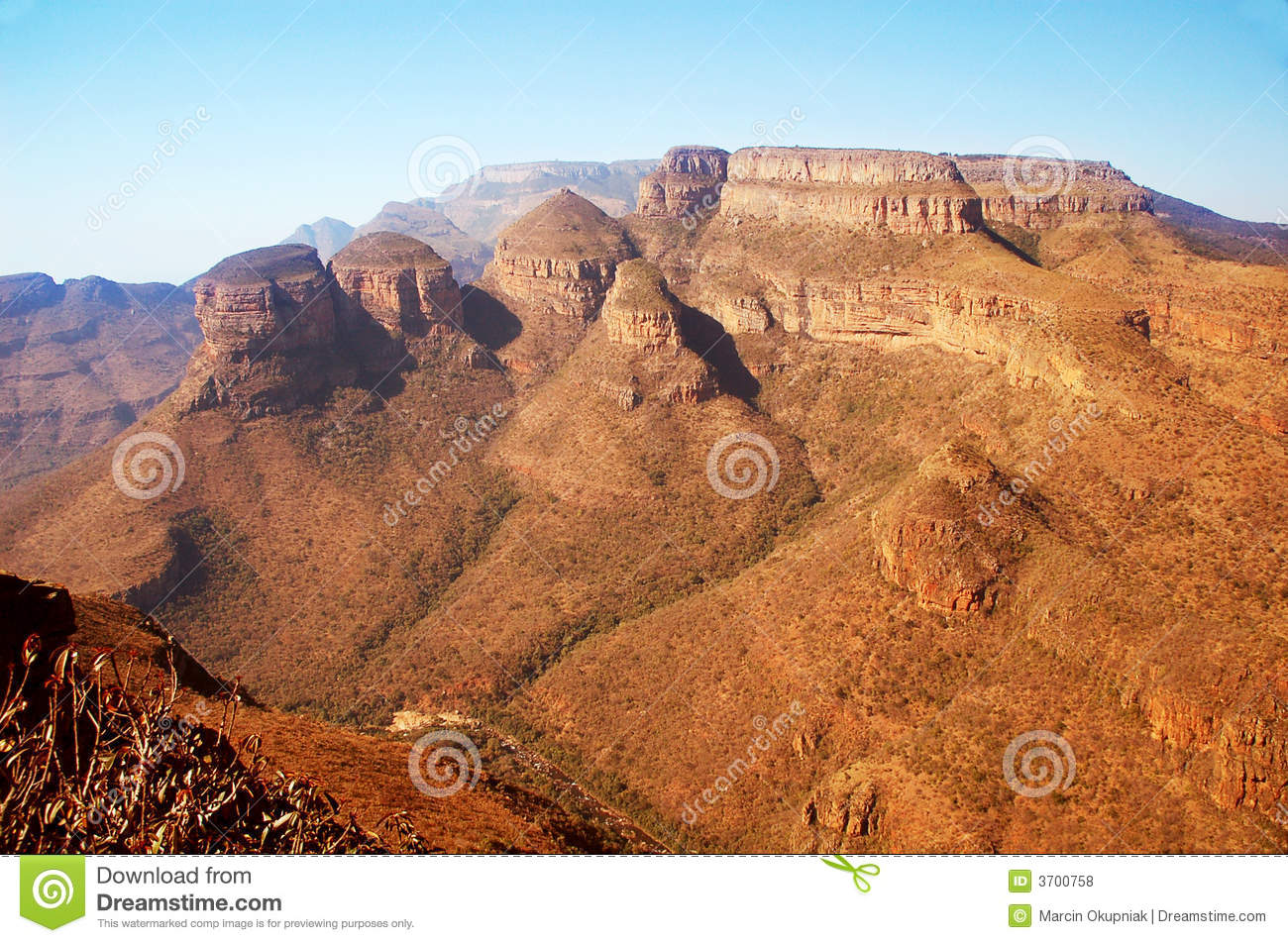Canyon in South Africa