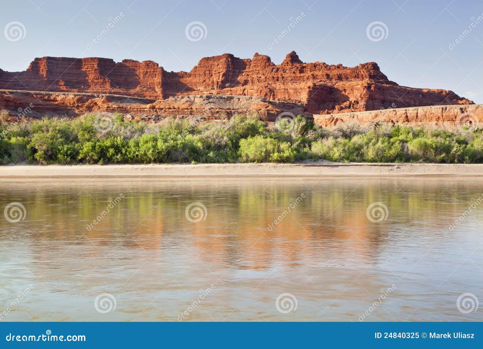 Canyonlands εθνικός ποταμός πάρκων του Κολοράντο