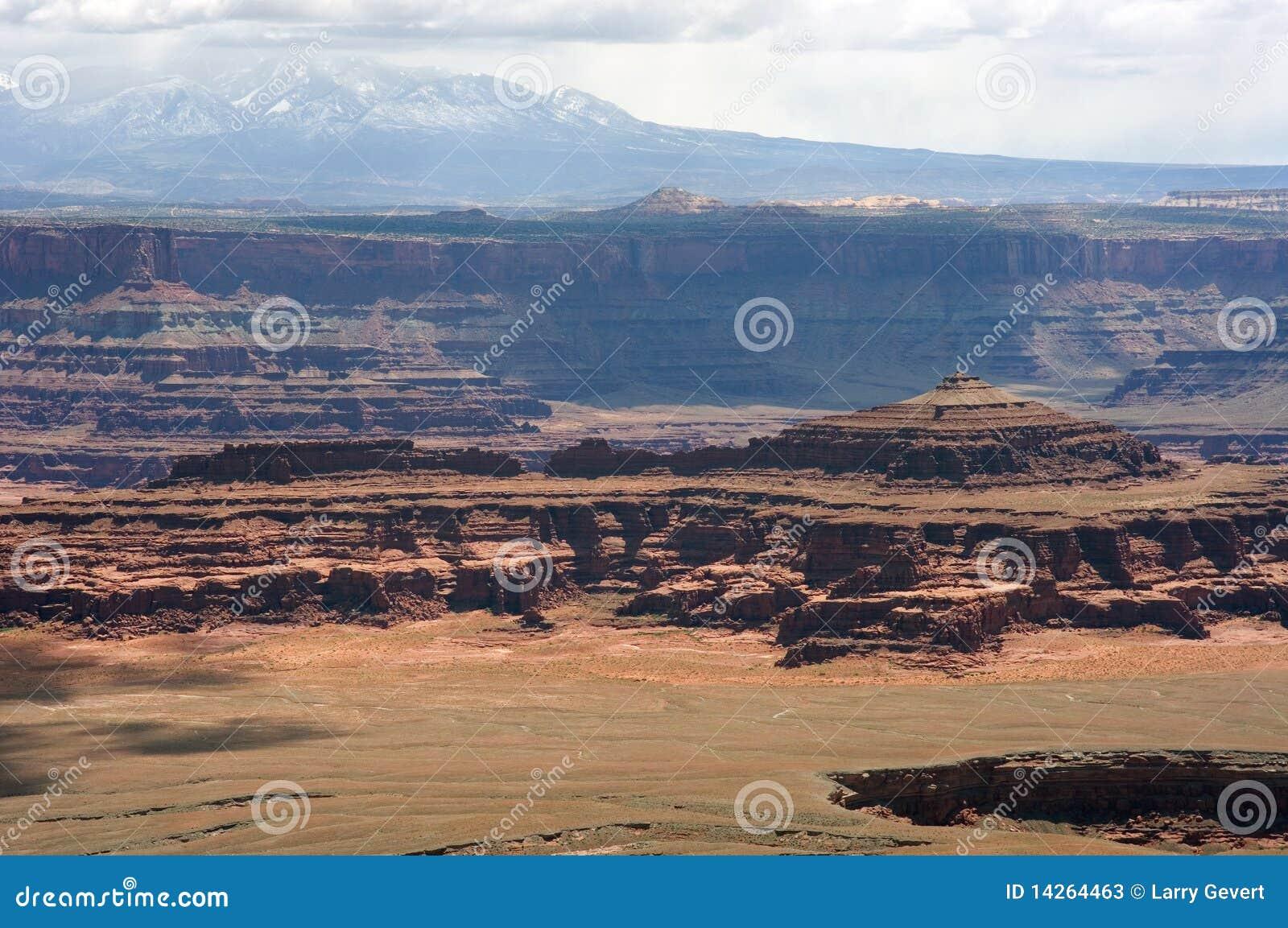 Canyonlands εθνικό πάρκο παράβλεψη&sigma