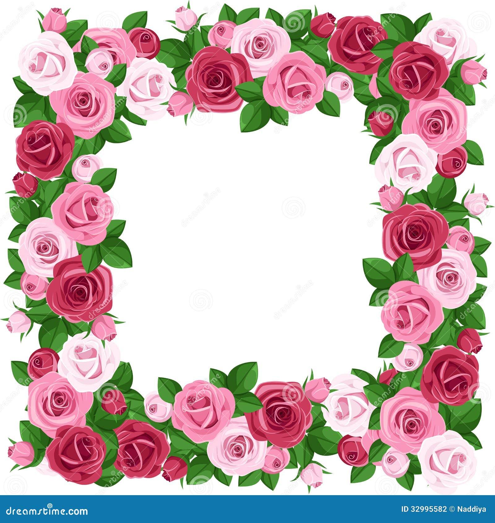 Capítulo con las rosas rojas y rosadas.