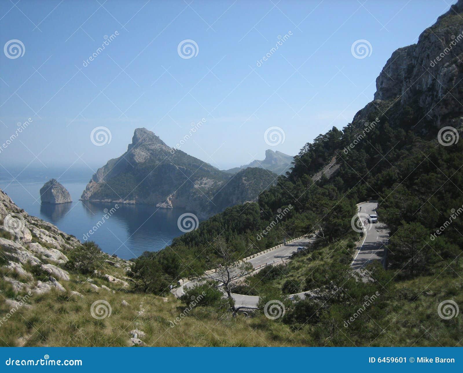 Cap De Mallorca Formentor Hiszpanii