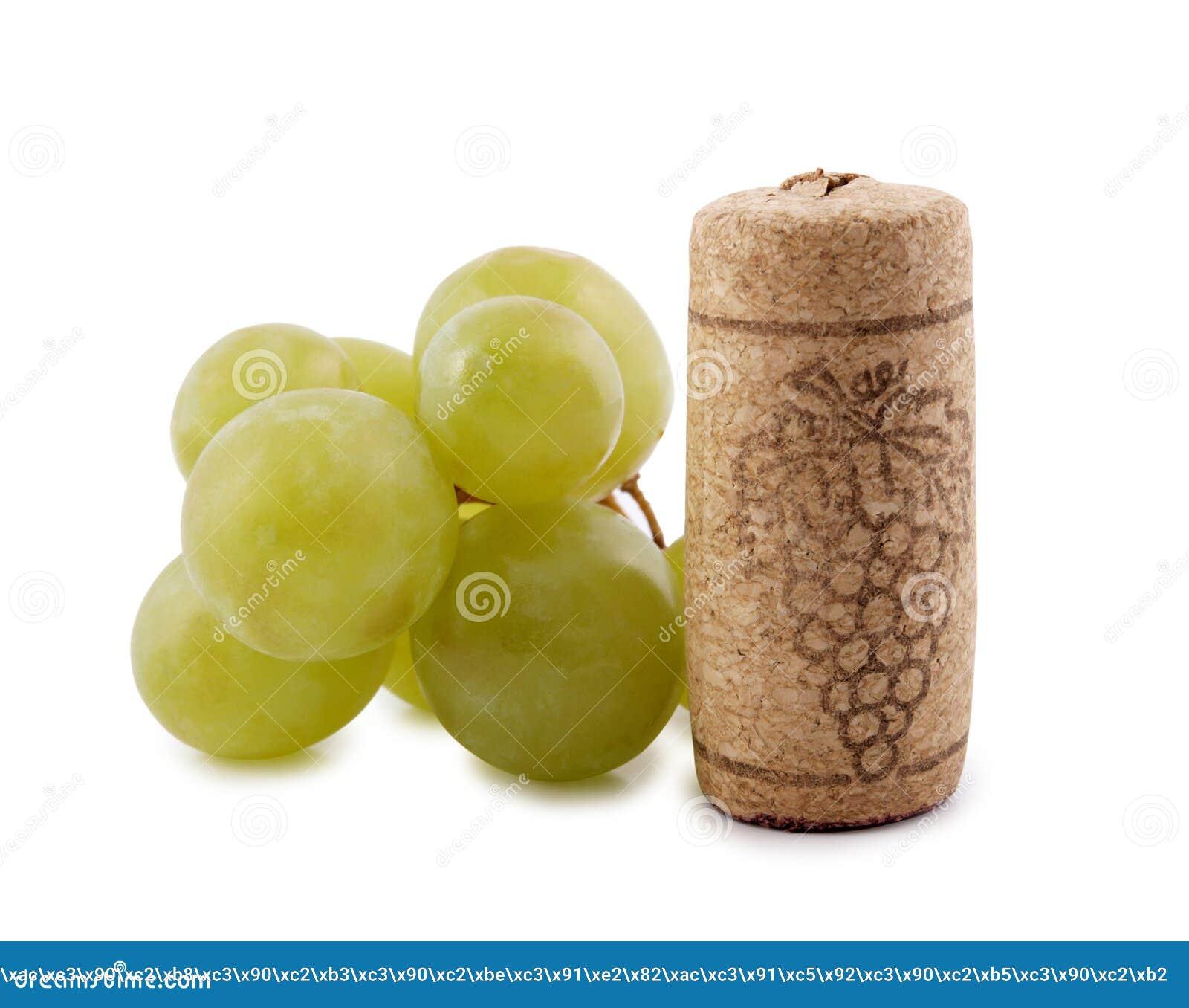Cap and grapes