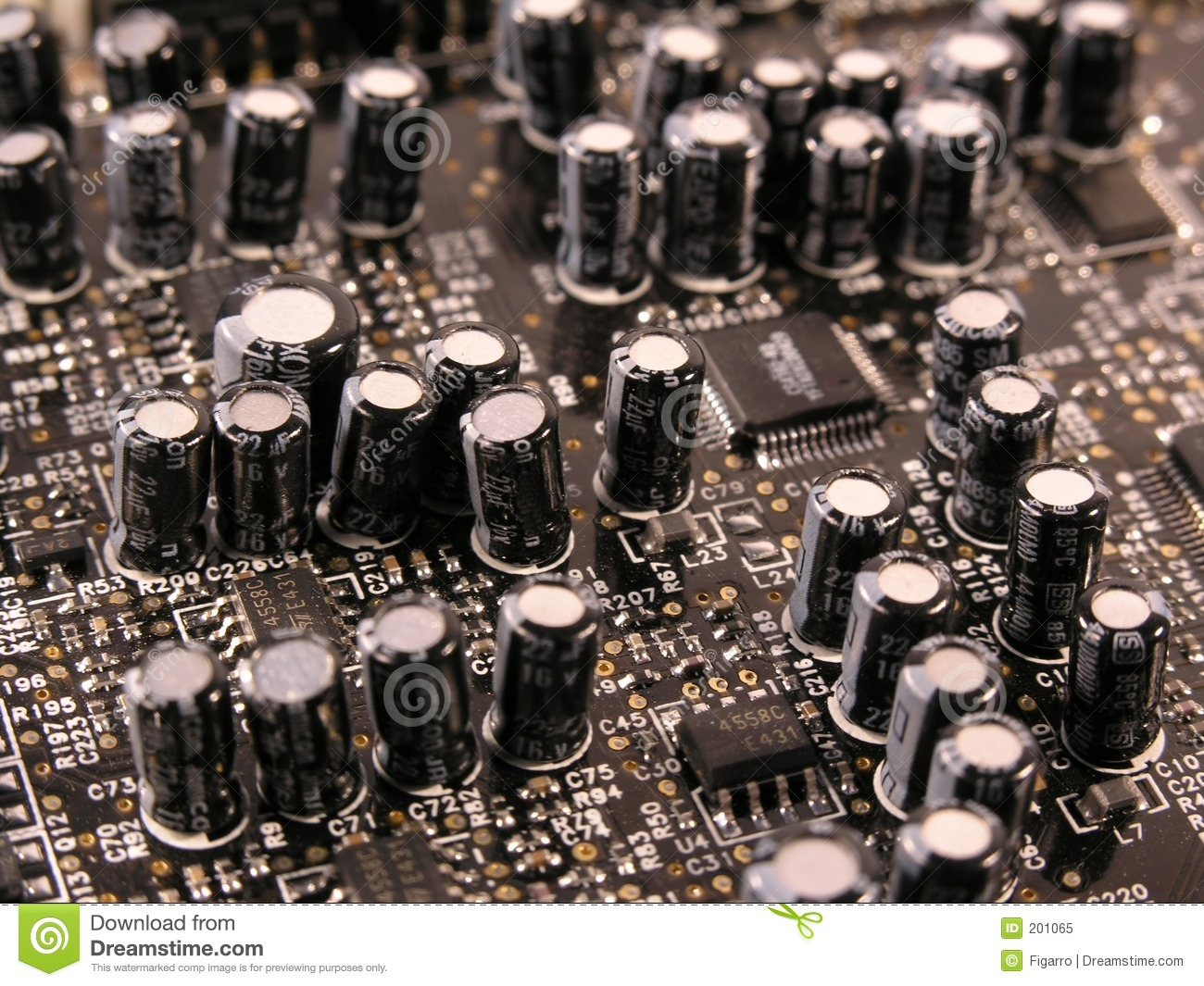 Circuit Board Capacitor