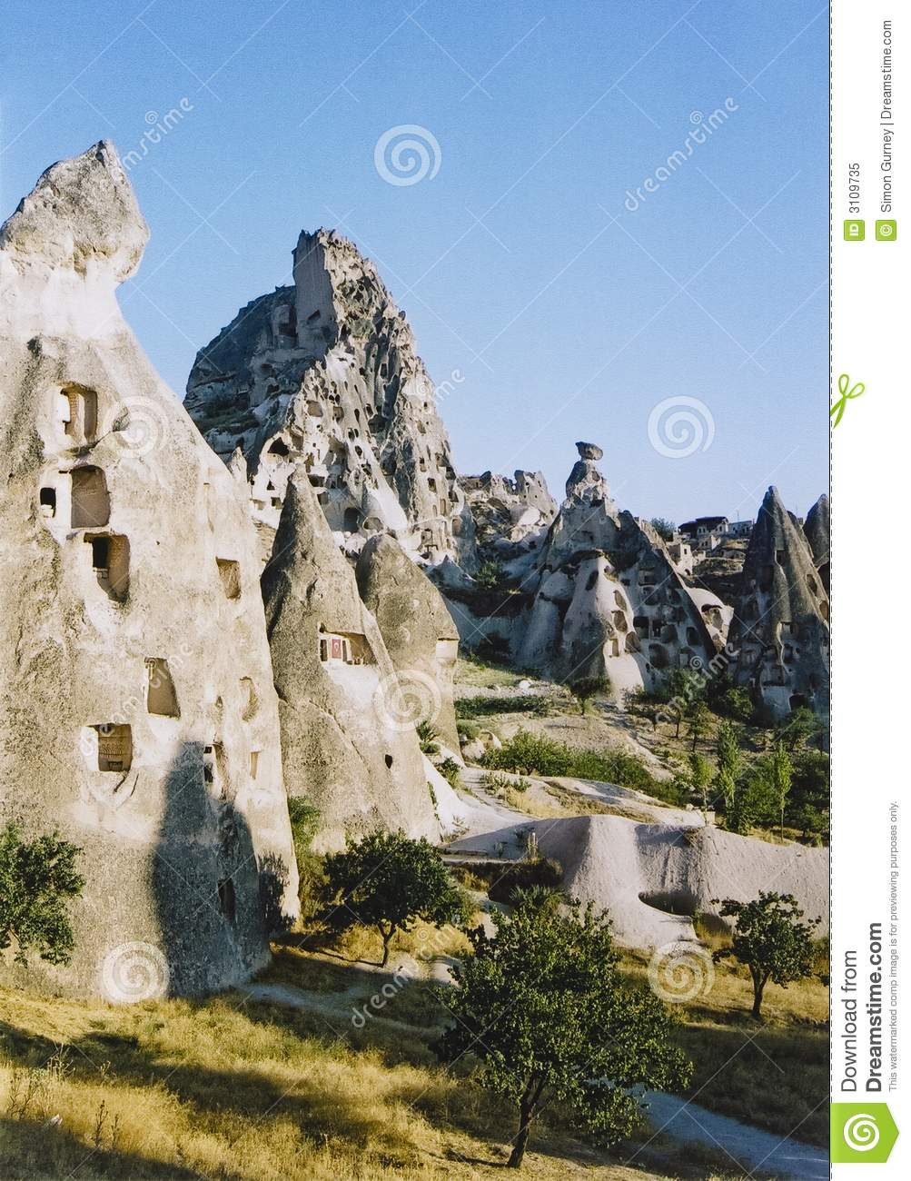 Capadocia fairy chimneys turkey