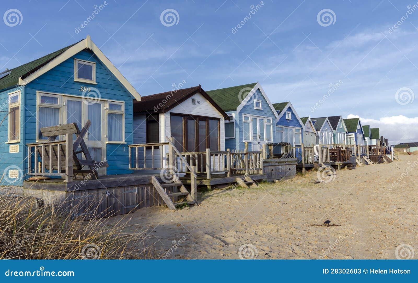 Capanne della spiaggia allo sputo di mudeford immagine for Planimetrie della cabina della spiaggia
