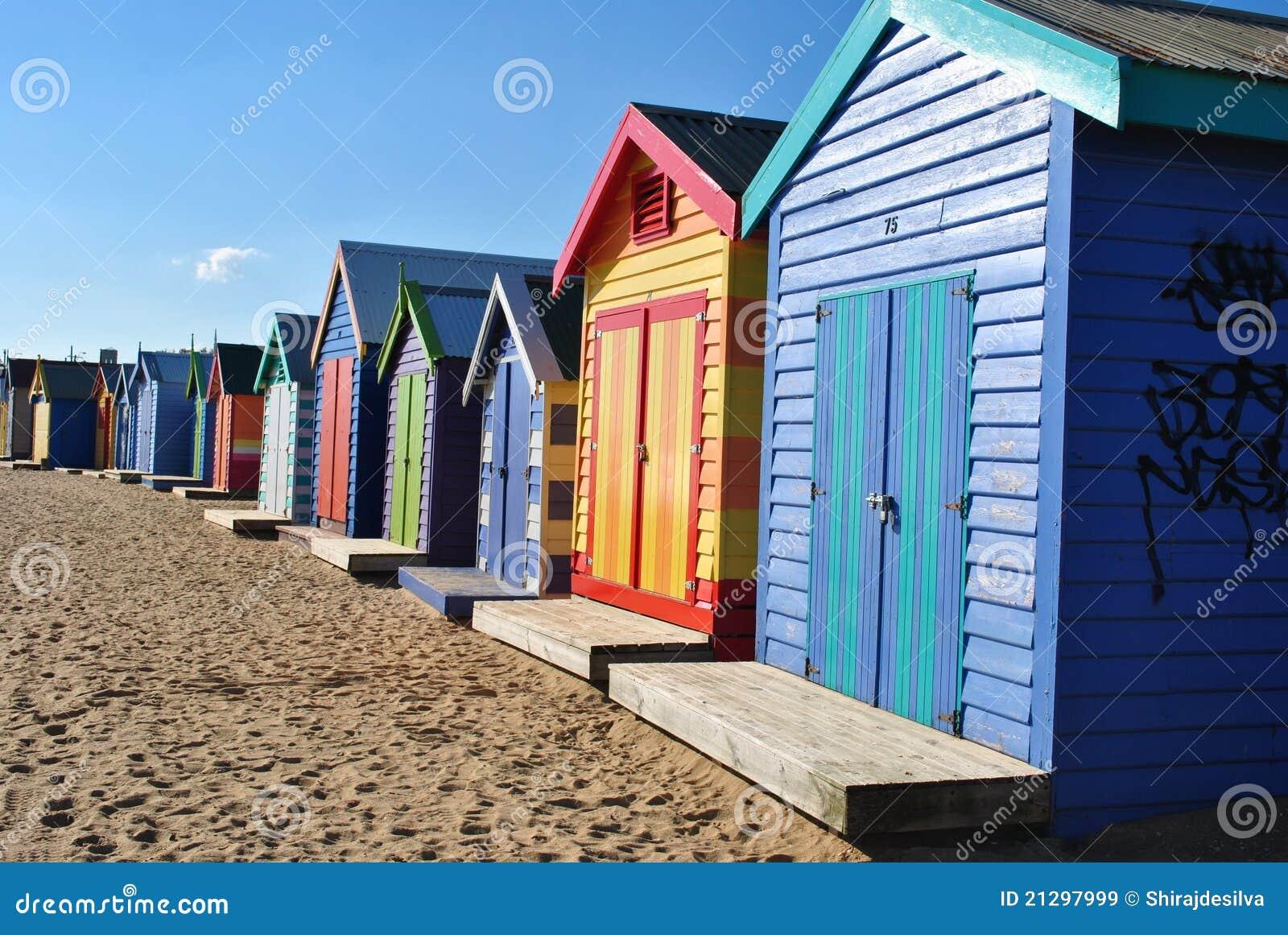 Capanne della spiaggia di Brighton