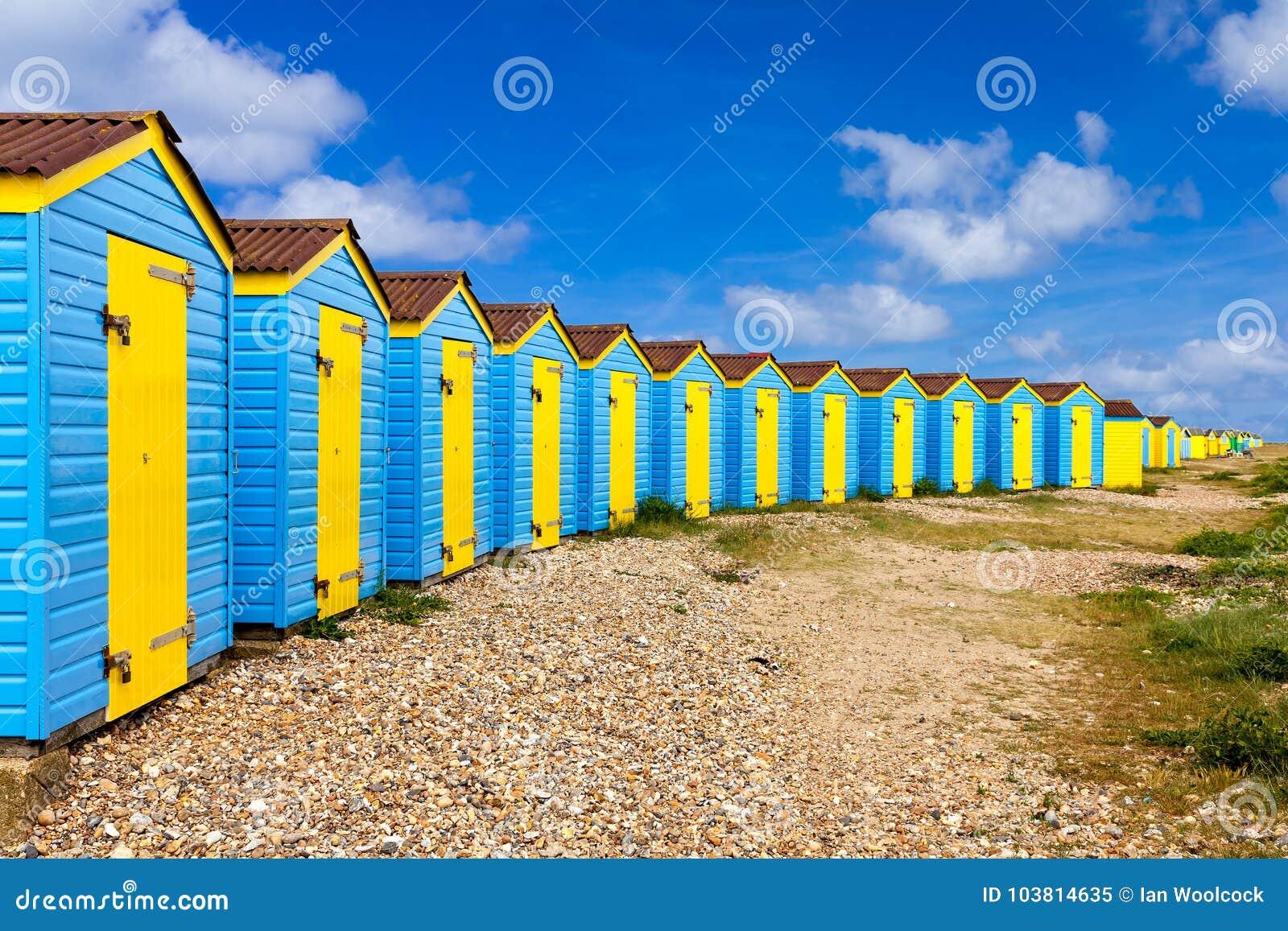 Capanne della spiaggia di Littlehampton