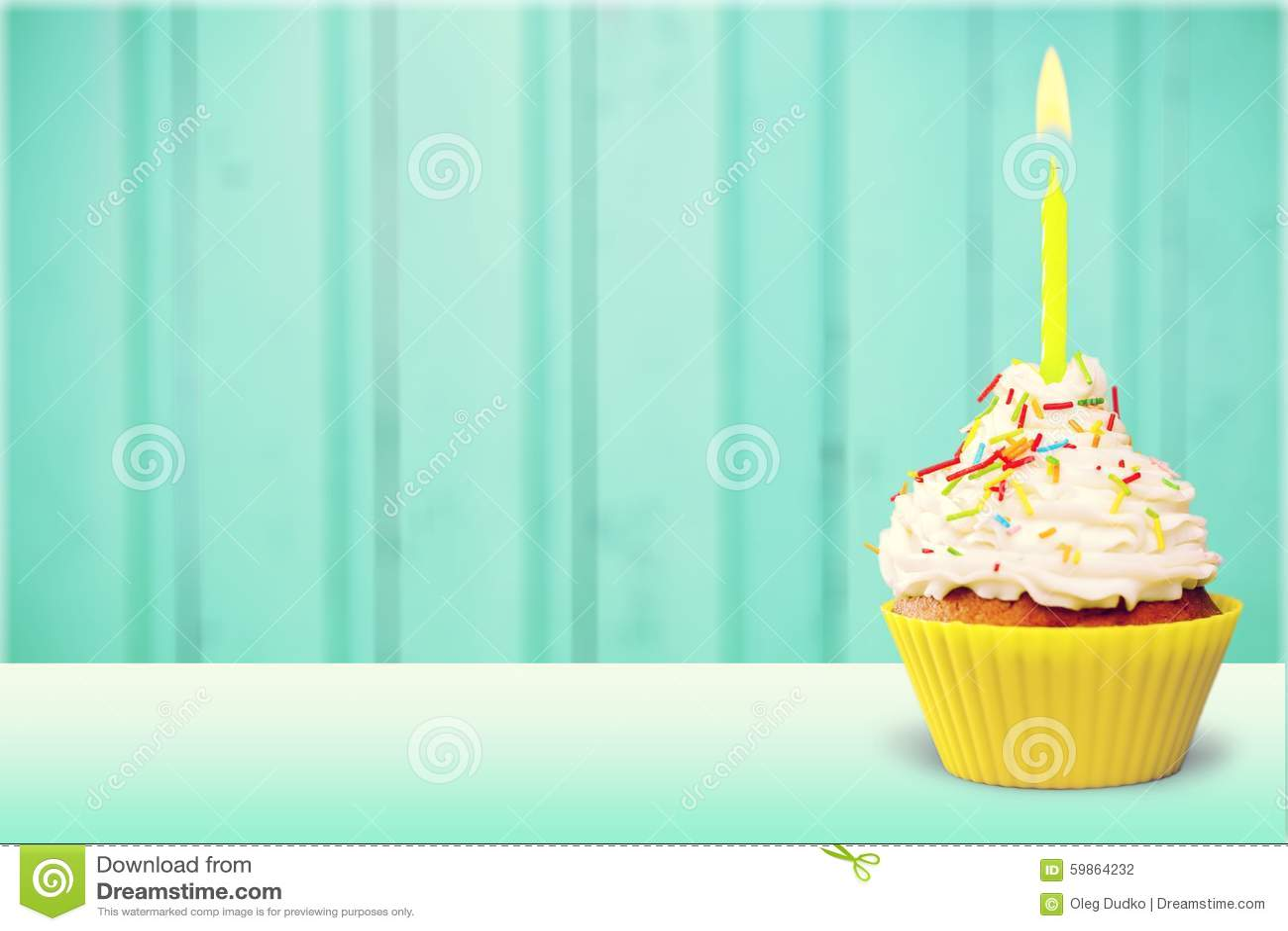 Capcake d anniversaire