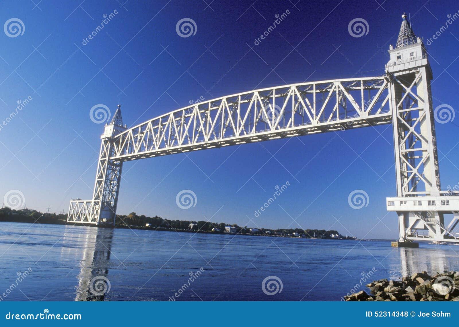 Railroad Lift Bridge Royalty Free Stock Photo