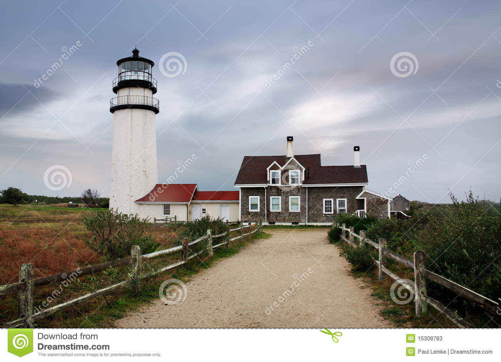 The Cape Cod Highland Lighthouse