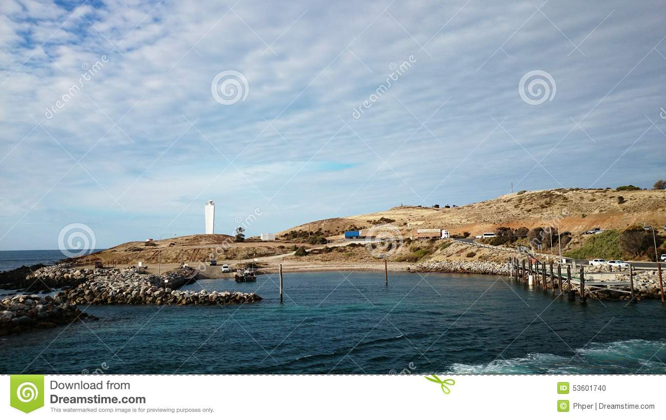 Cape Jervis Australia  City new picture : Cape Jervis view in South Australia.