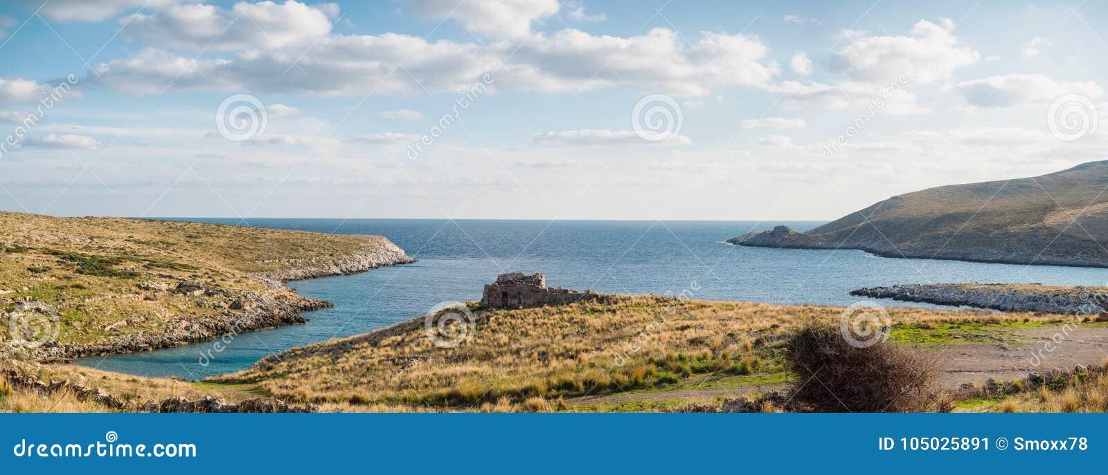 Cape Matapan in Mani, Laconia, Peloponnese, Greece