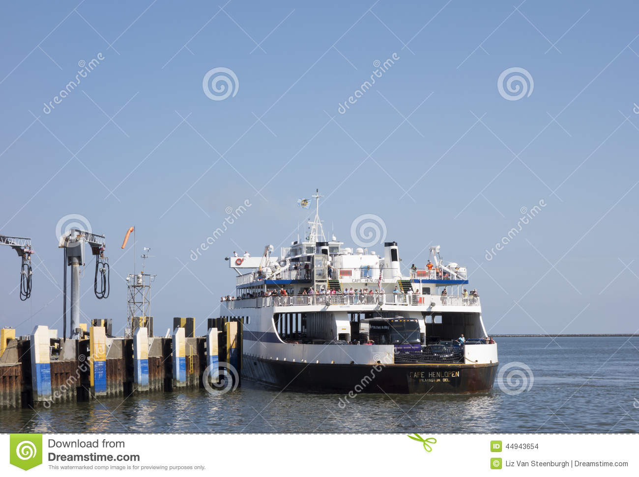 cape may-lewes ferry editorial stock image. image of ferry - 44943654