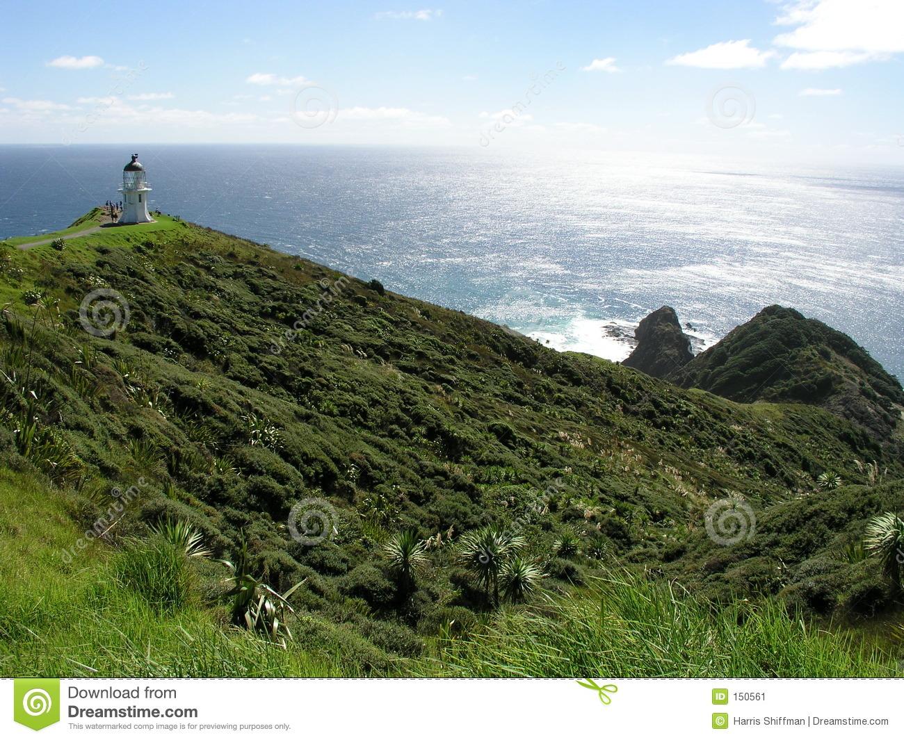 Download Cape Reinga Lighthouse stock image. Image of zealand, coastline - 150561