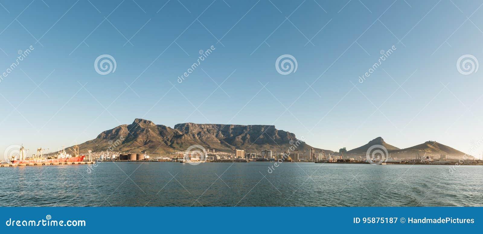 Cape Town & x28; mening van seaside& x29;