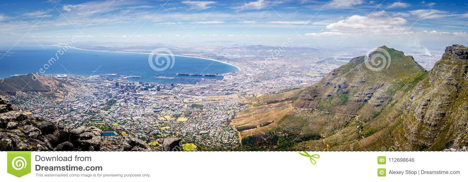 Cape Town-Panorama, Südafrika