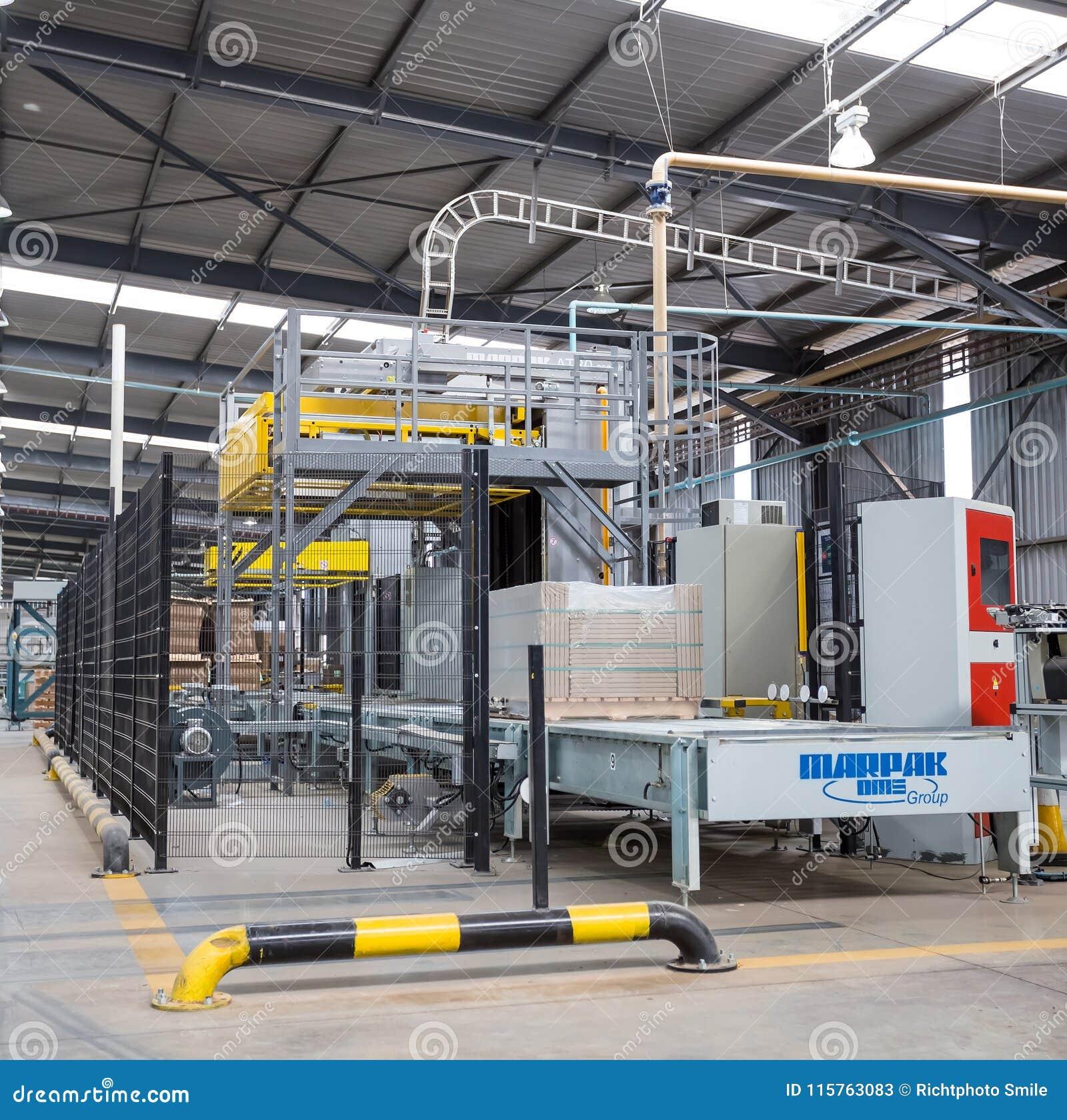 Ceramic Tile Manufacturing Plant Editorial Stock Photo Image Of